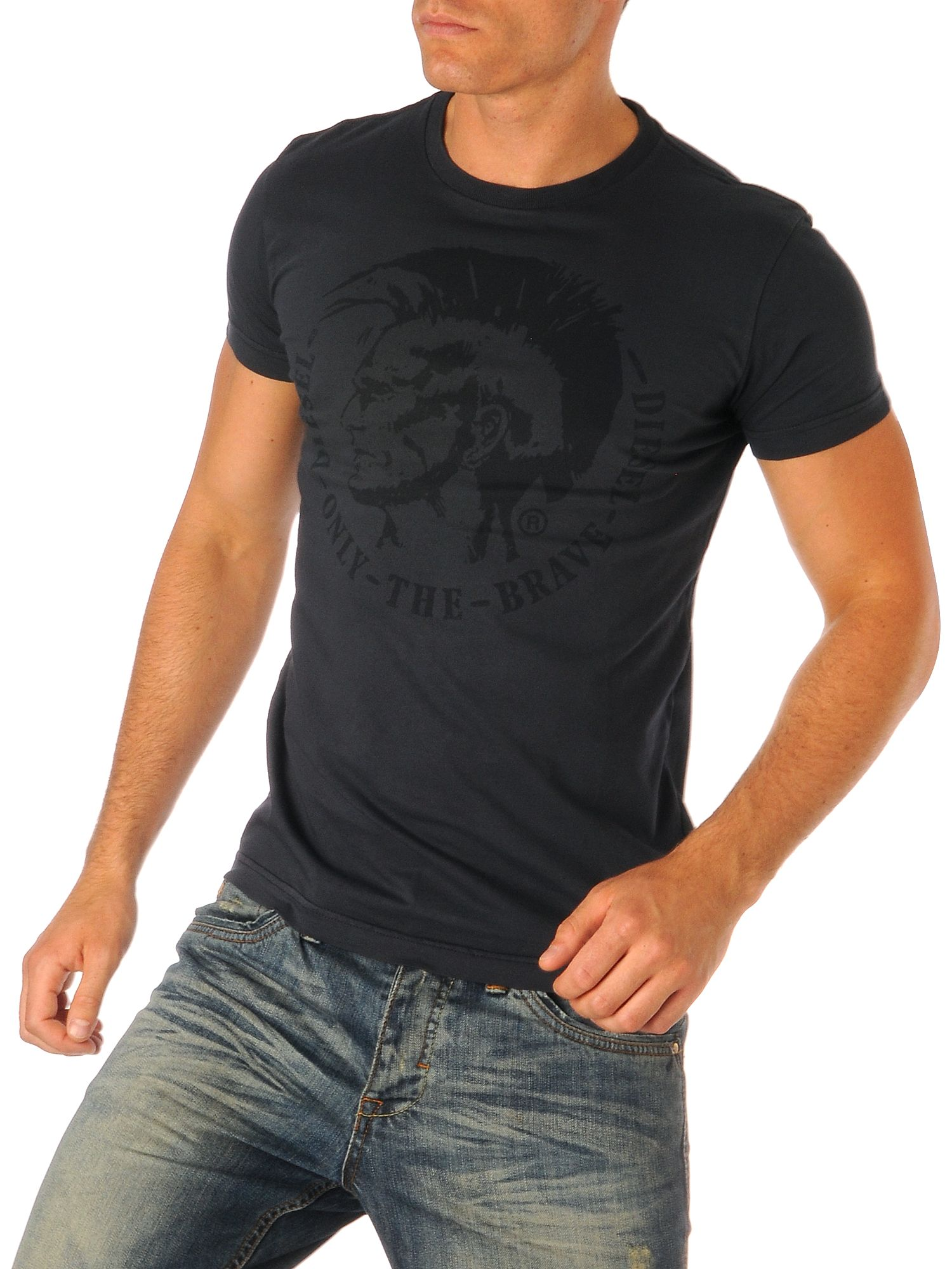Diesel T-shirt mohican basic Navy product image
