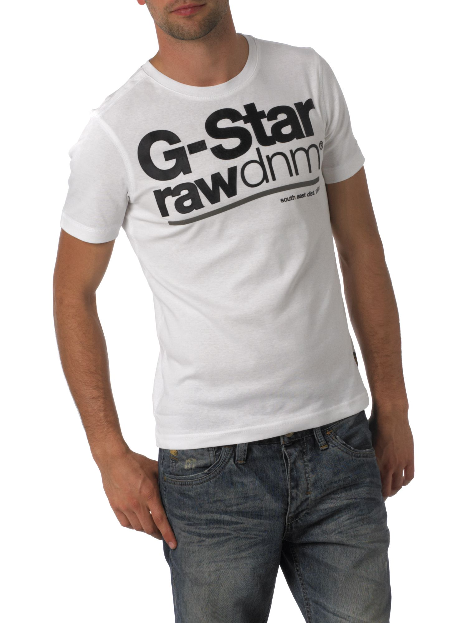 G-Star Short sleeve emblem logo manny t-shirt product image