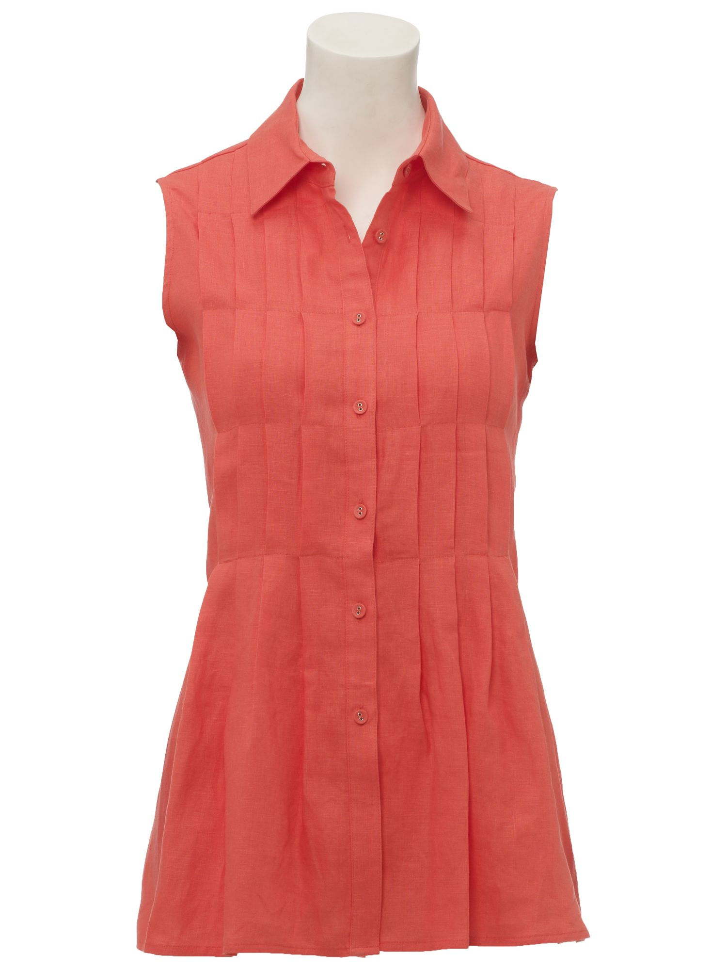 Paul Costelloe Pleated tunic blouse product image