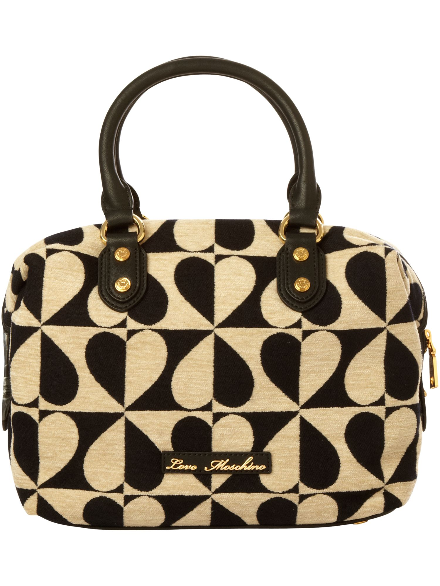 Love Moschino Soft Hearted small leather bowling bag product image