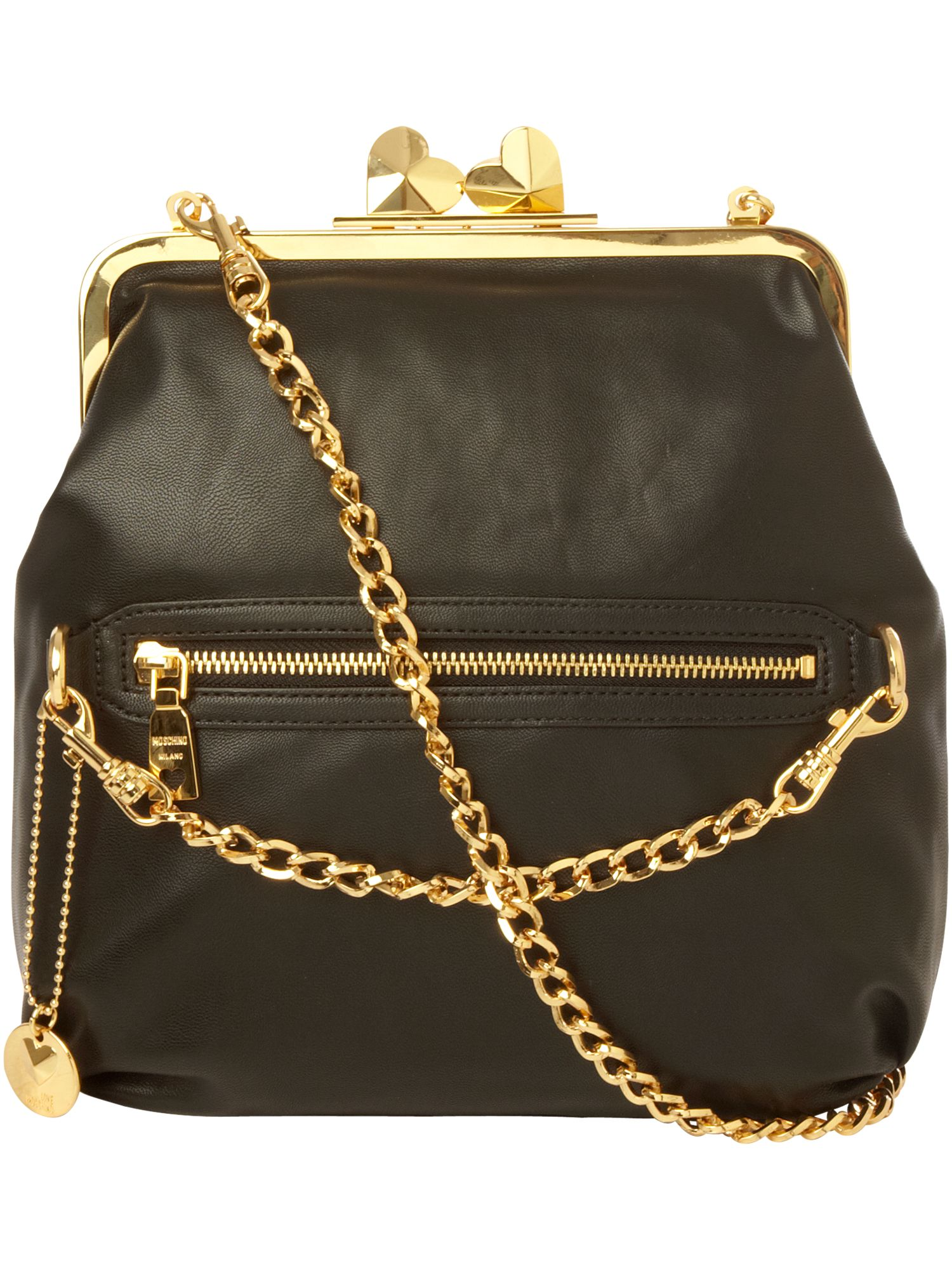 Love Moschino Nappa Valley medium leather shoulder bag product image