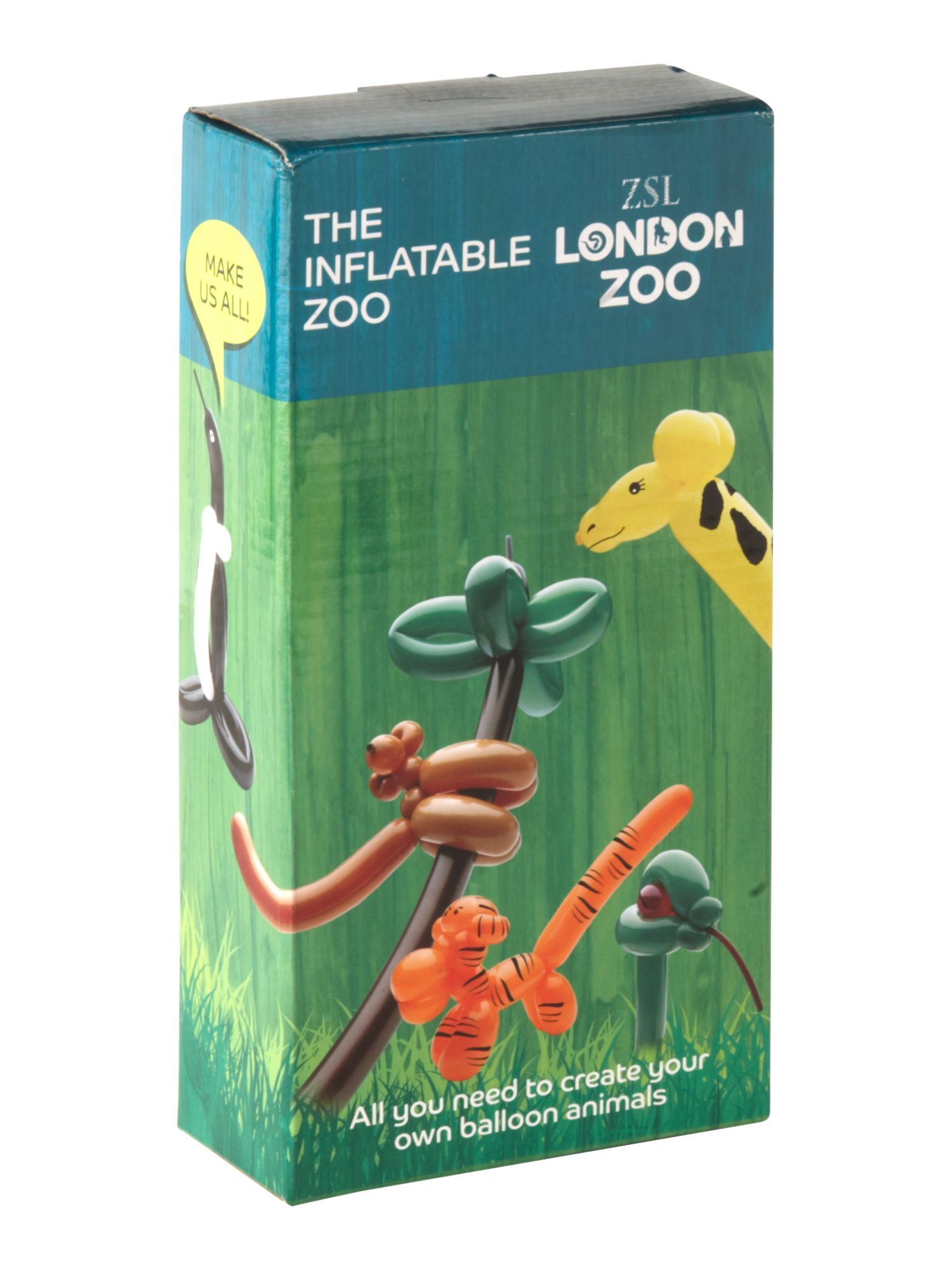 House of Fraser London Zoo inflatable zoo