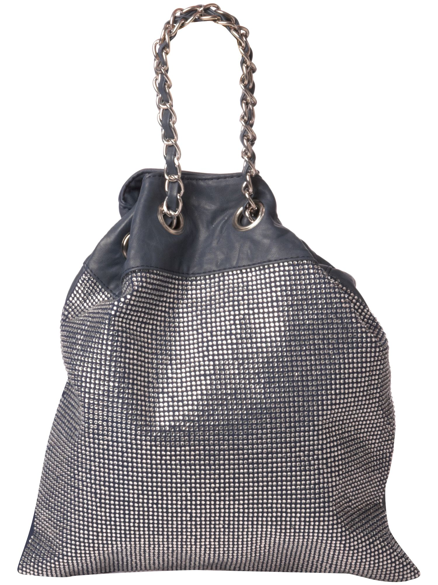 Max C Tiny stone stud pu shoulder bag product image