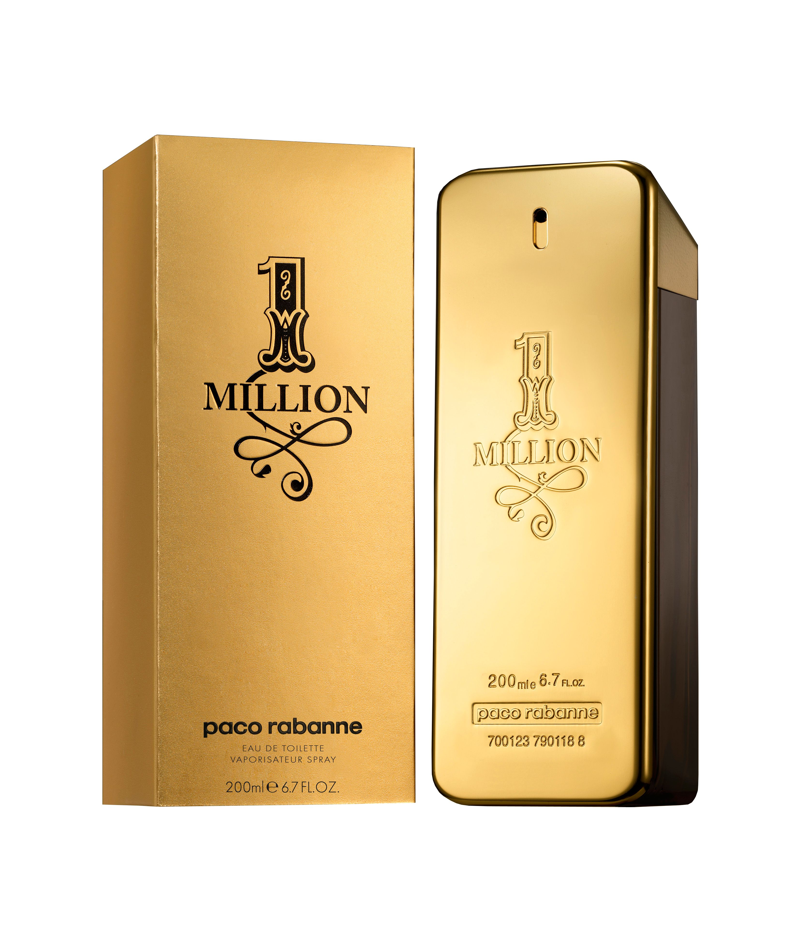 Paco Rabanne 1 Million For Men Eau de Toilette 200ml