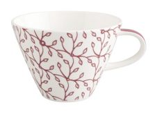 Caffe club floral berry large coffee cup