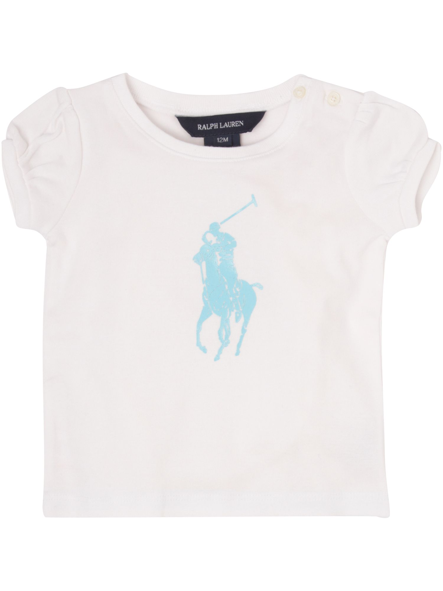 Ralph Lauren Short-sleeved large pony logo T-shirt product image