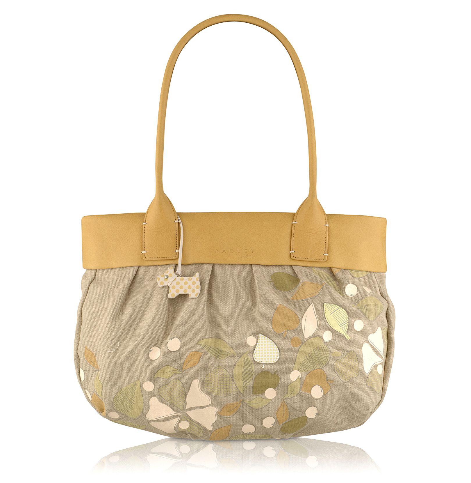 Woodstock Large zip top tote