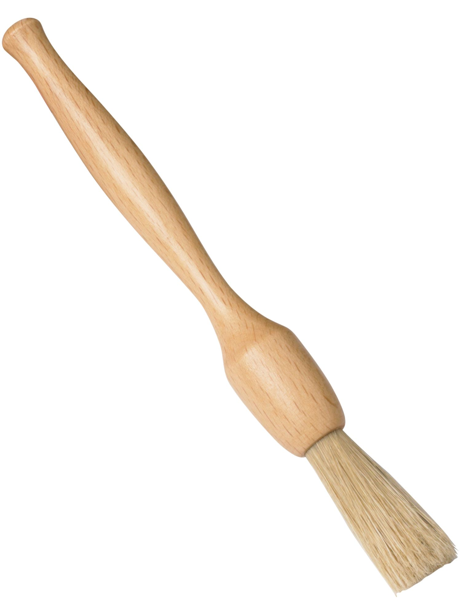 18cm wooden pastry brush