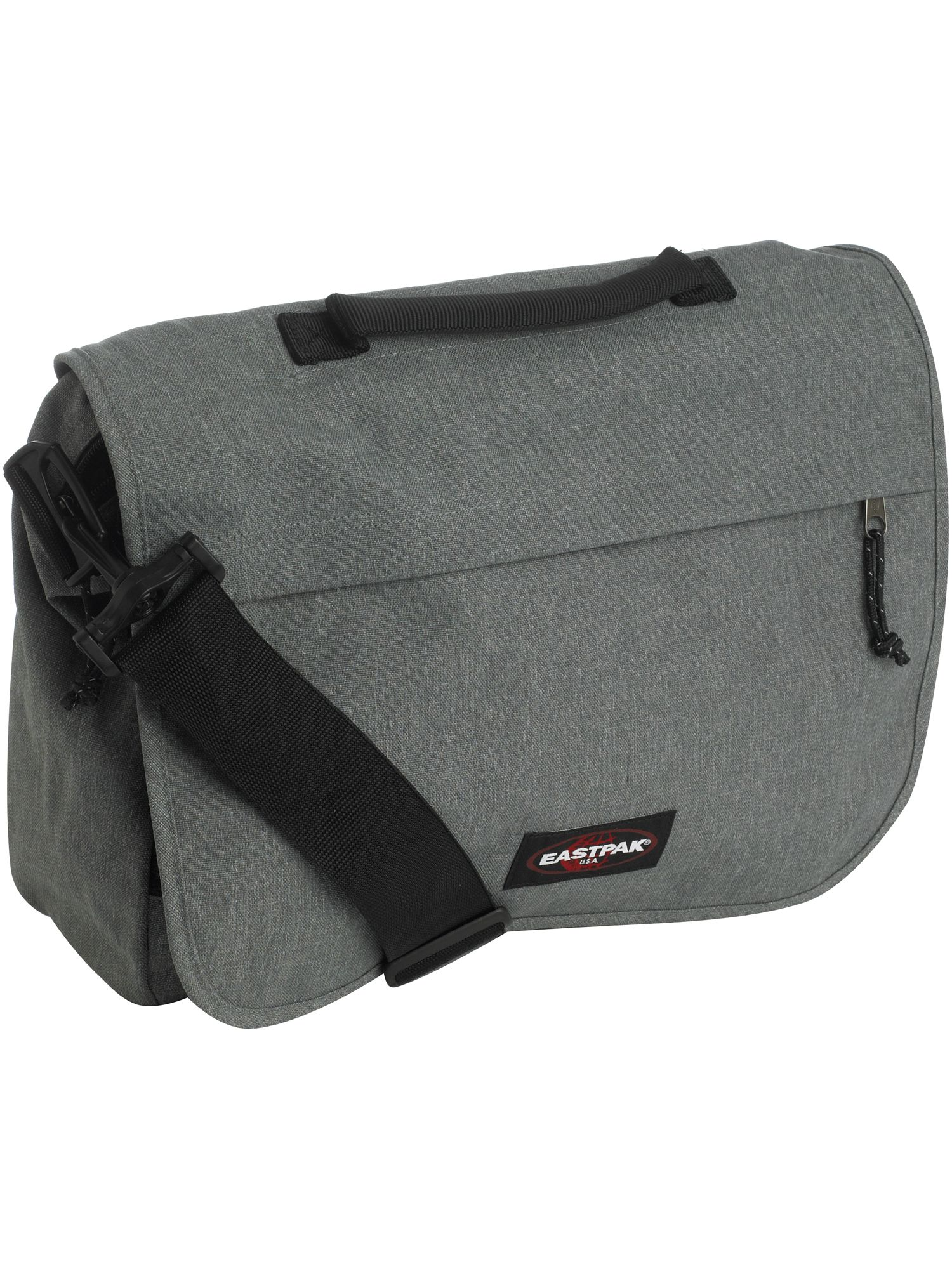 Laptop Messenger in Sunday Grey