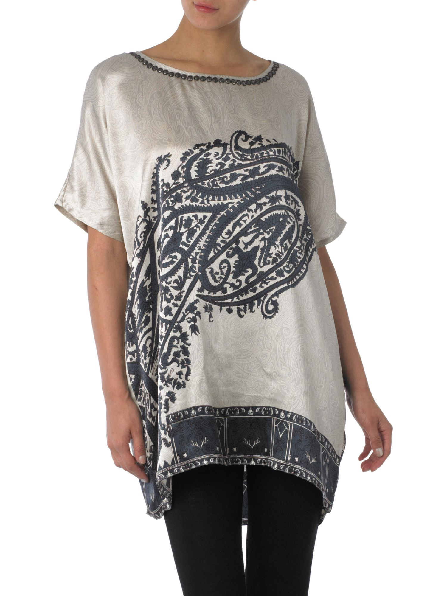 Day Birger Et Mikkelsen Day paisley blouse - Black 8,8 product image