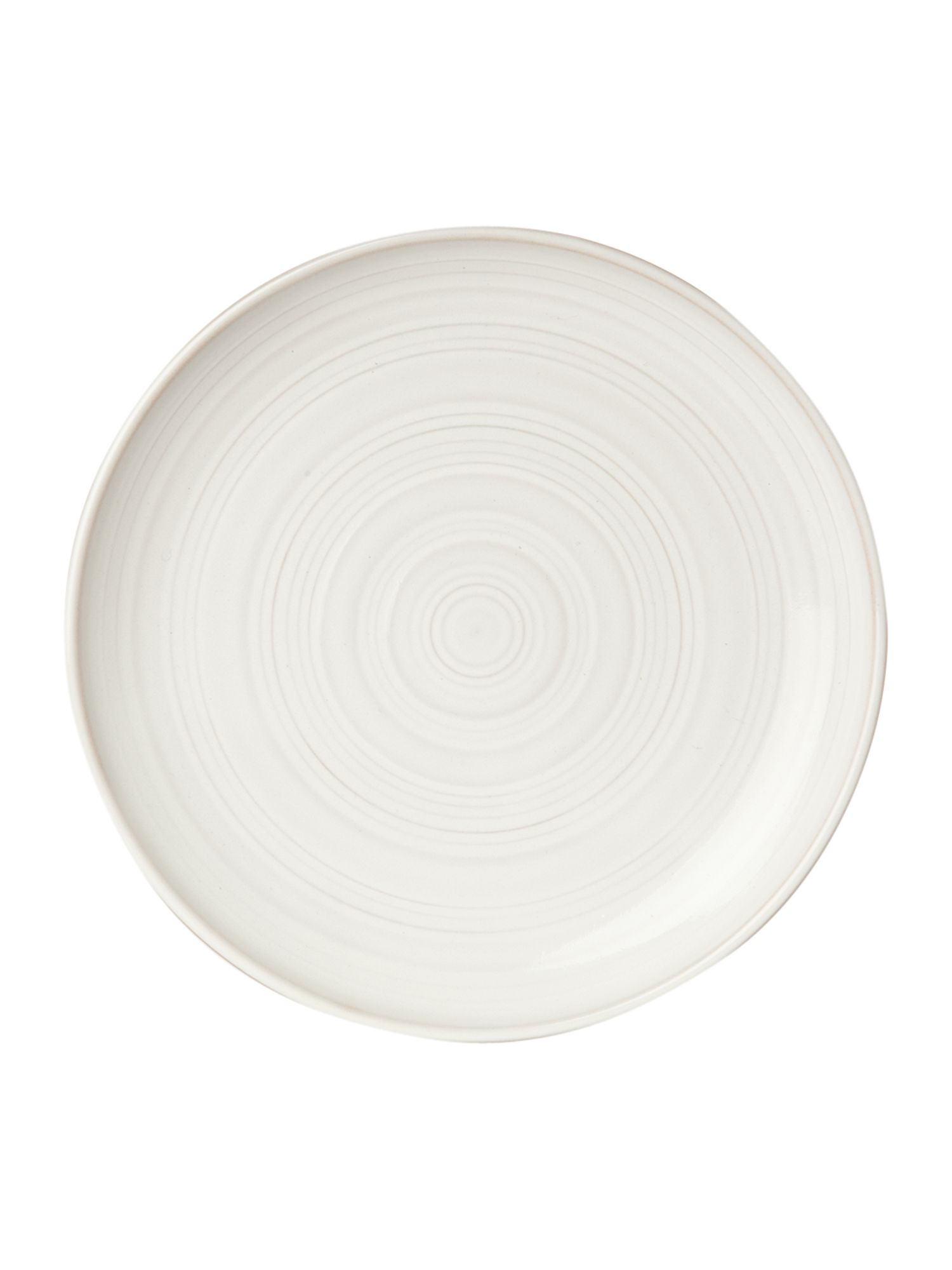 Echo white side plate
