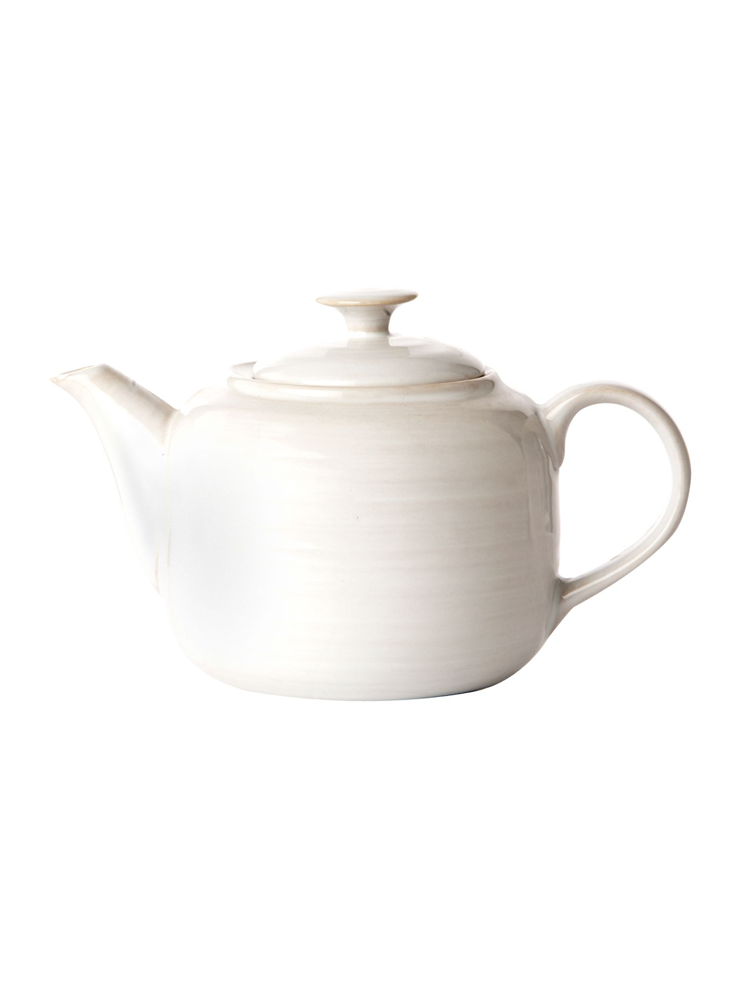 Echo white teapot