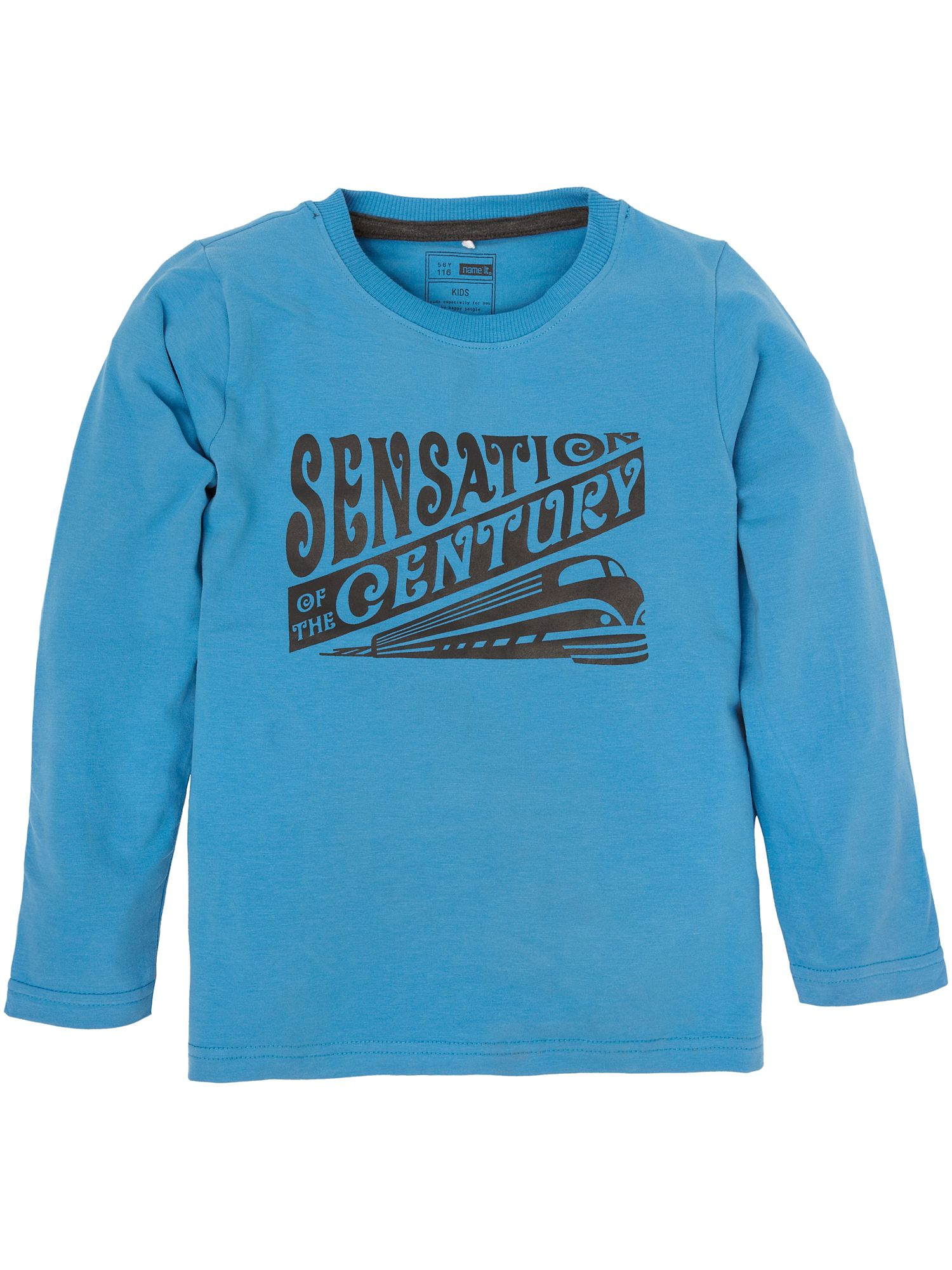 Name It Long-sleeved sensation century print T-shirt Blue product image