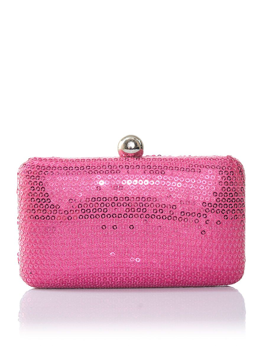 Aftershock Joya clutch Fuchsia product image