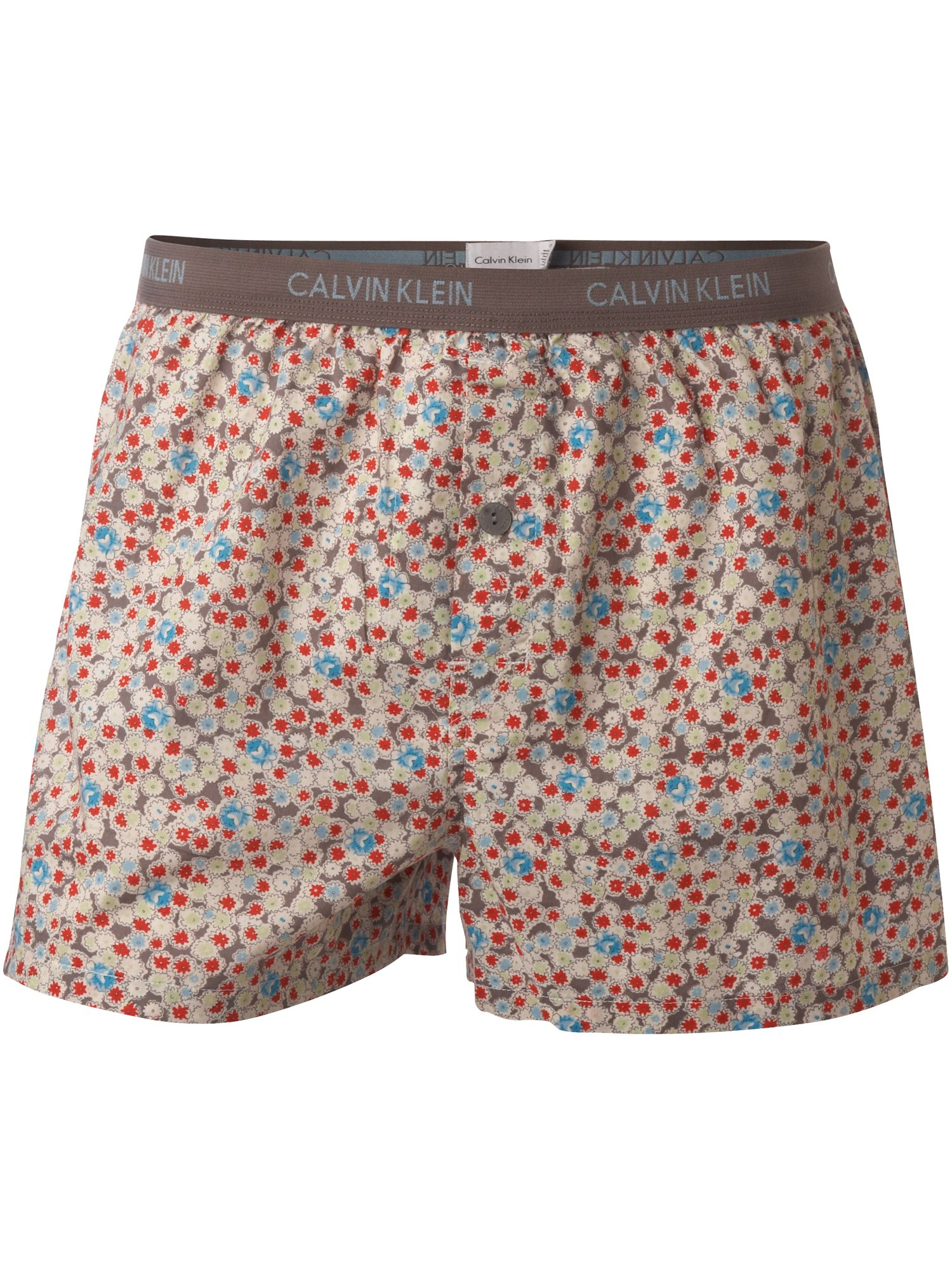 Calvin Klein Antique ditzy pattern woven boxer product image
