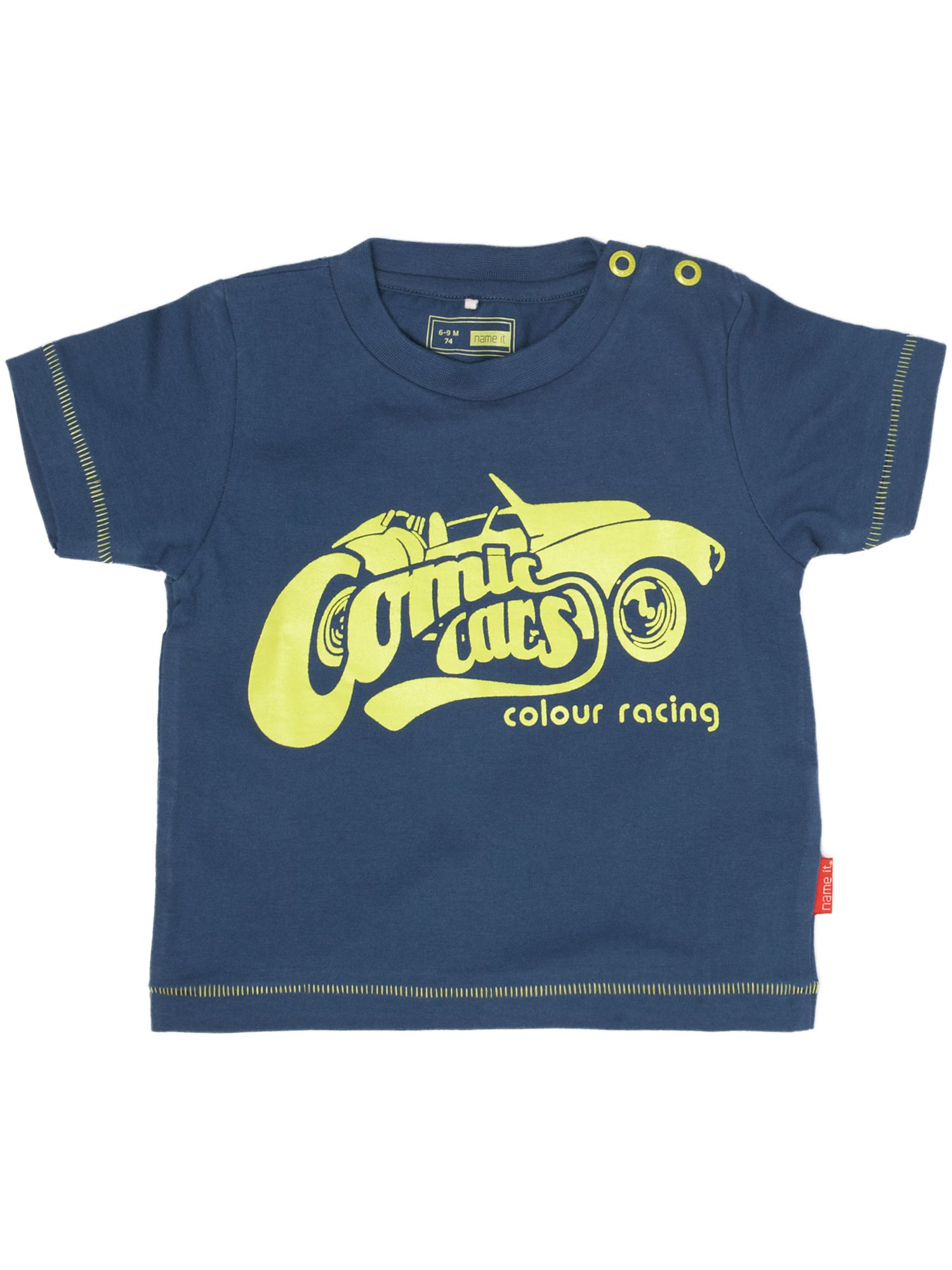 Name It Short-sleeved comic cars print T-shirt Navy product image