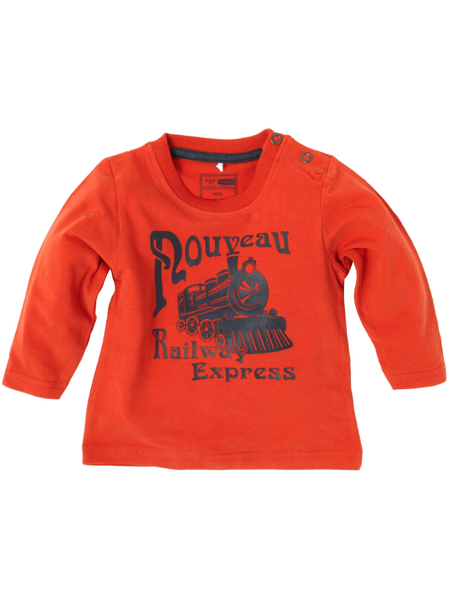 Name It Long-sleeved railway express printed T-shirt Red product image