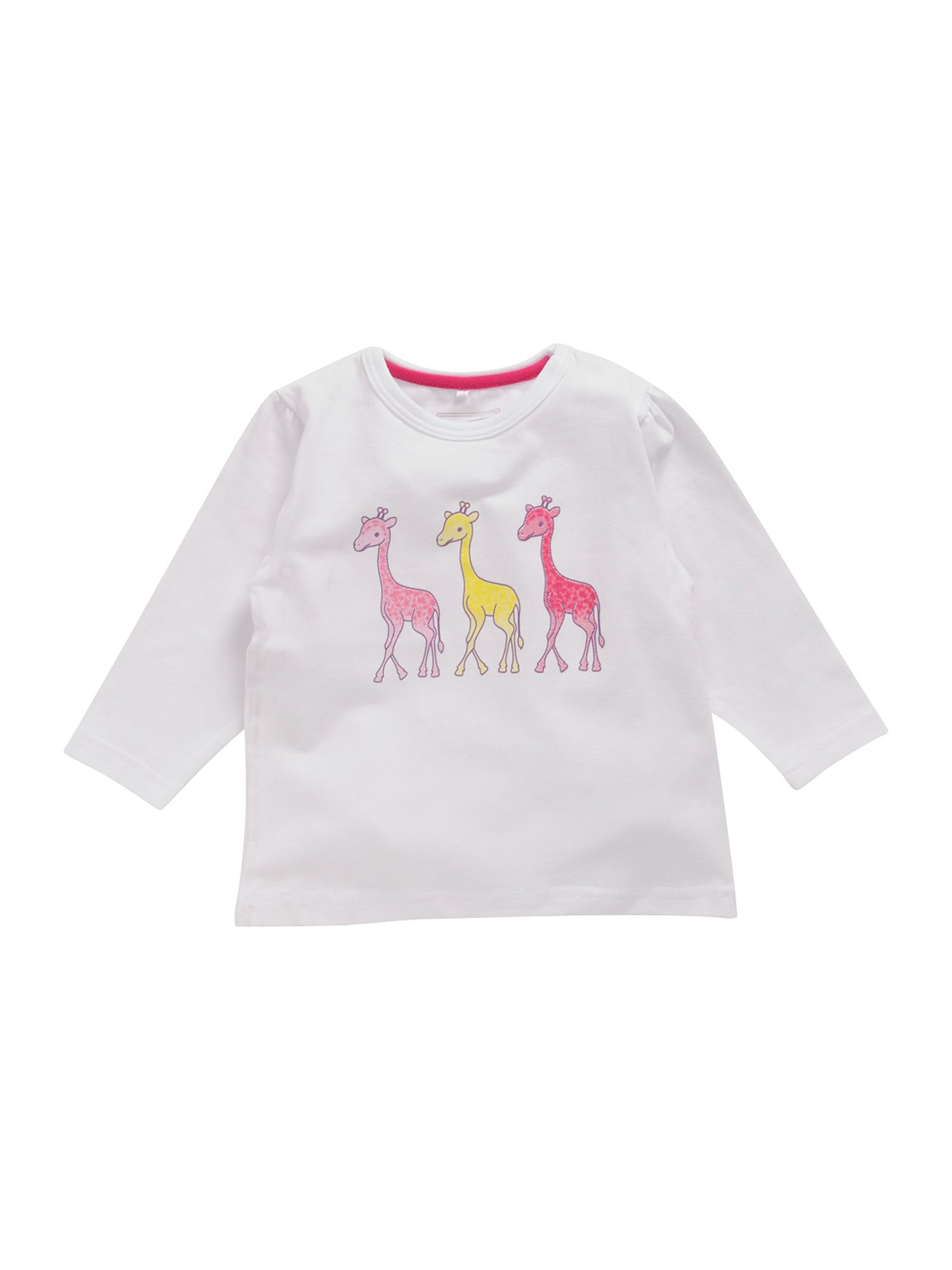 Name It Long-sleeved giraffe print T-shirt White product image