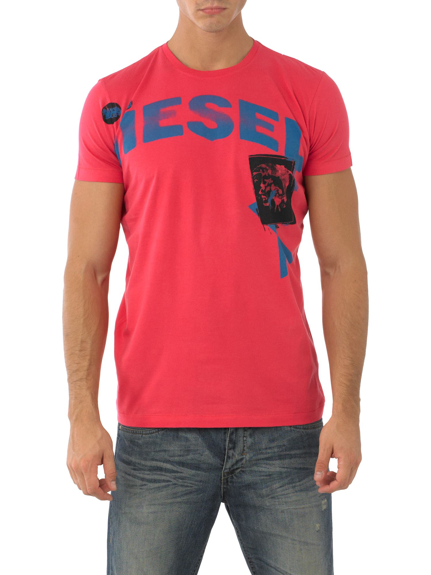Diesel Printed T-shirt Red product image