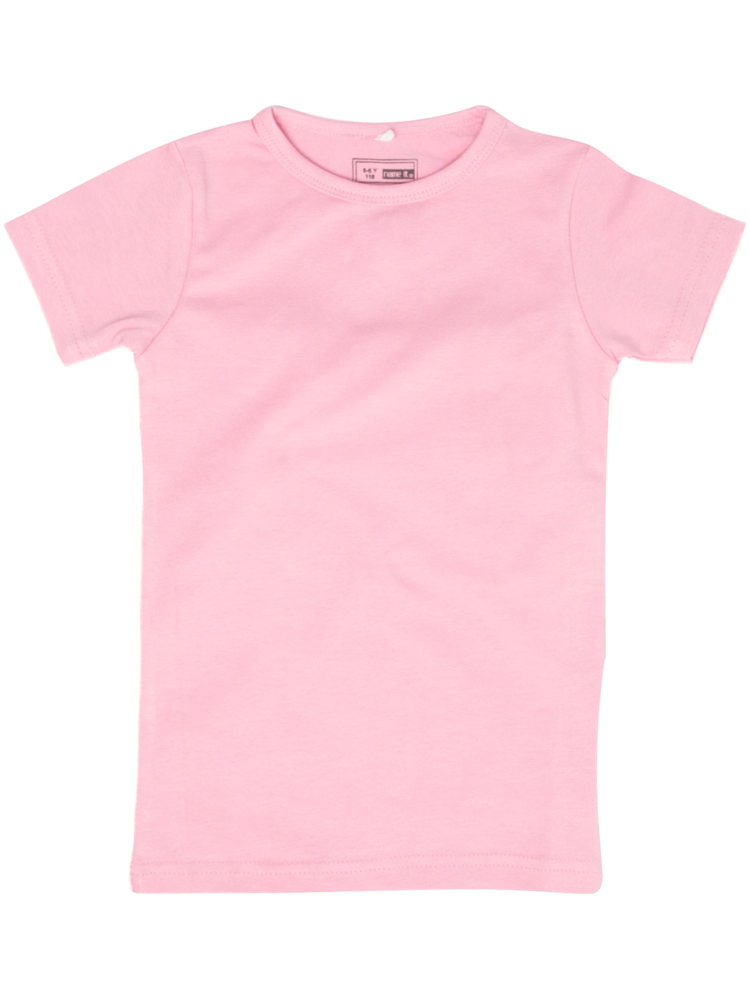 Name It Short-sleeved basic T-shirt Pastel Pink - review, compare ...