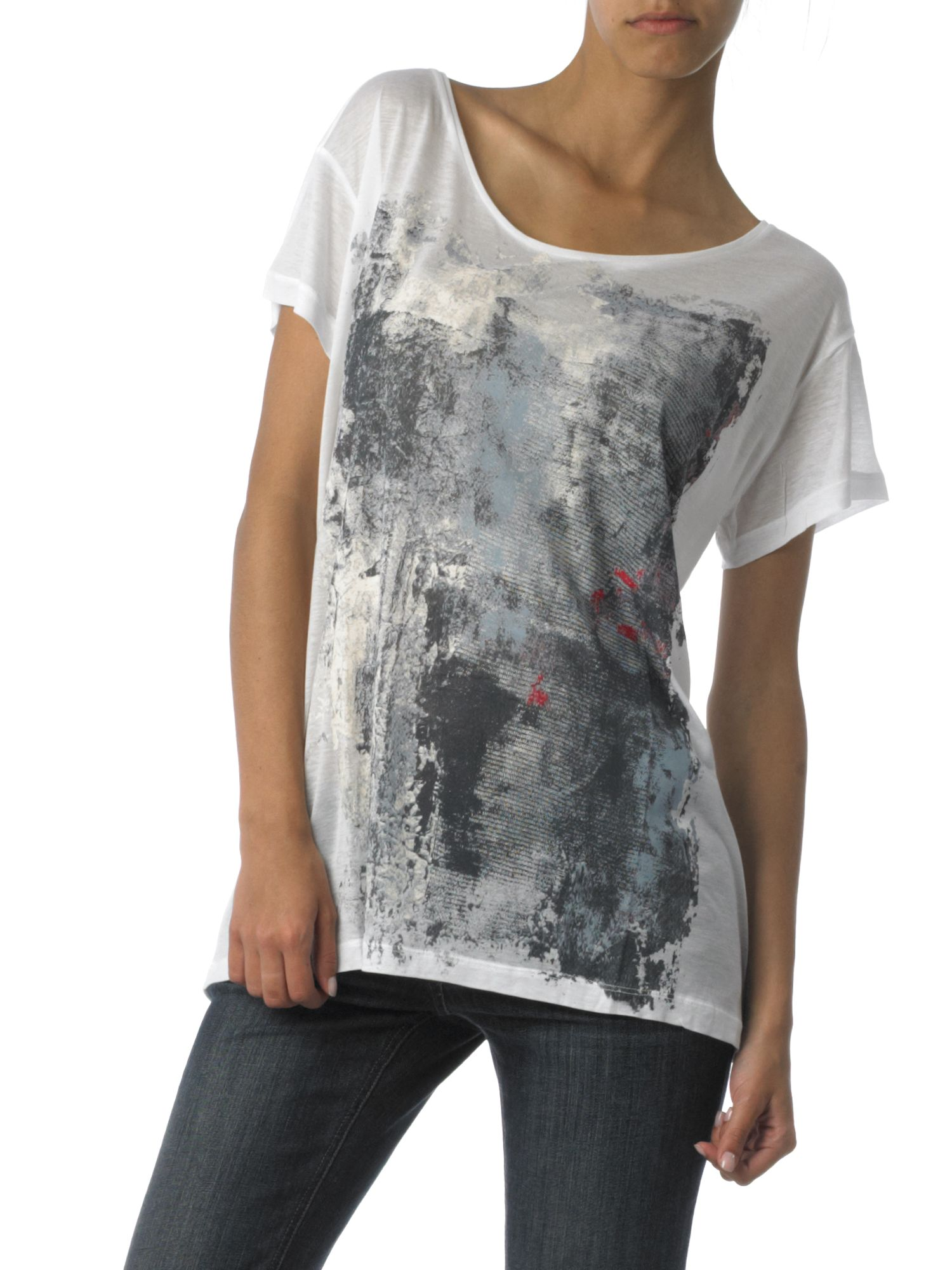 Selected oversized tee product image
