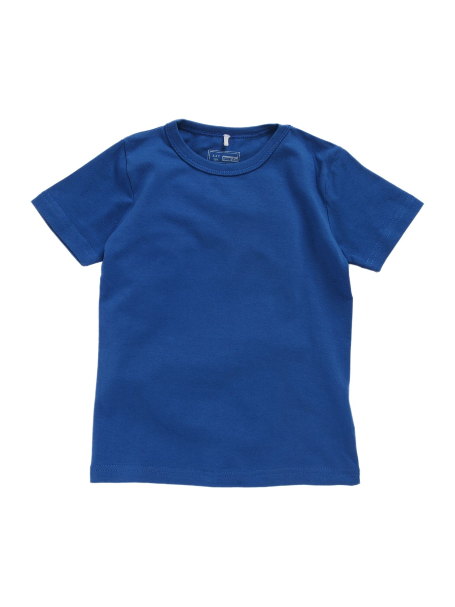 name it Short-sleeved basic T-shirt - Light Blue `12 product image