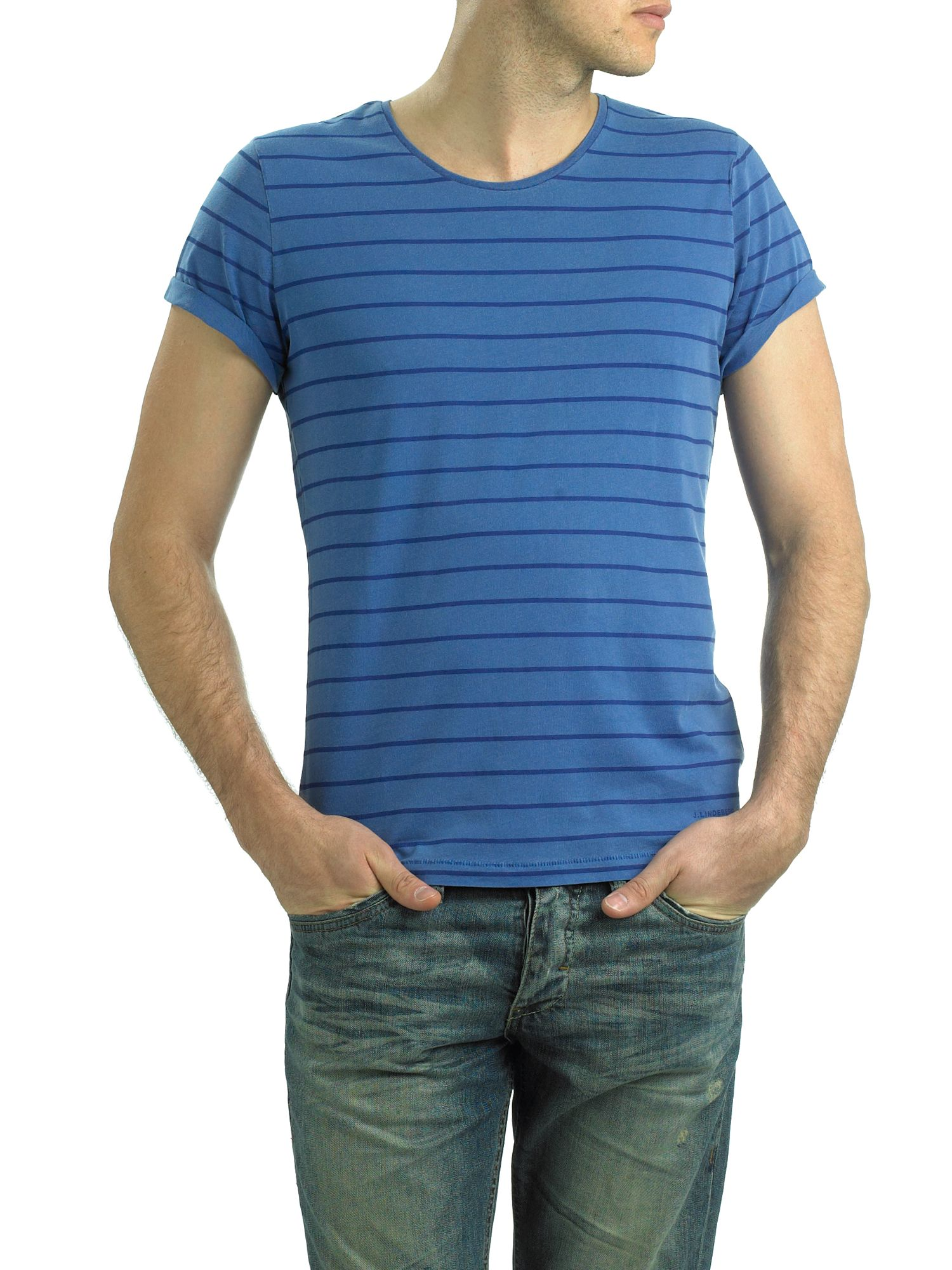 J Lindeberg Striped T-shirt product image