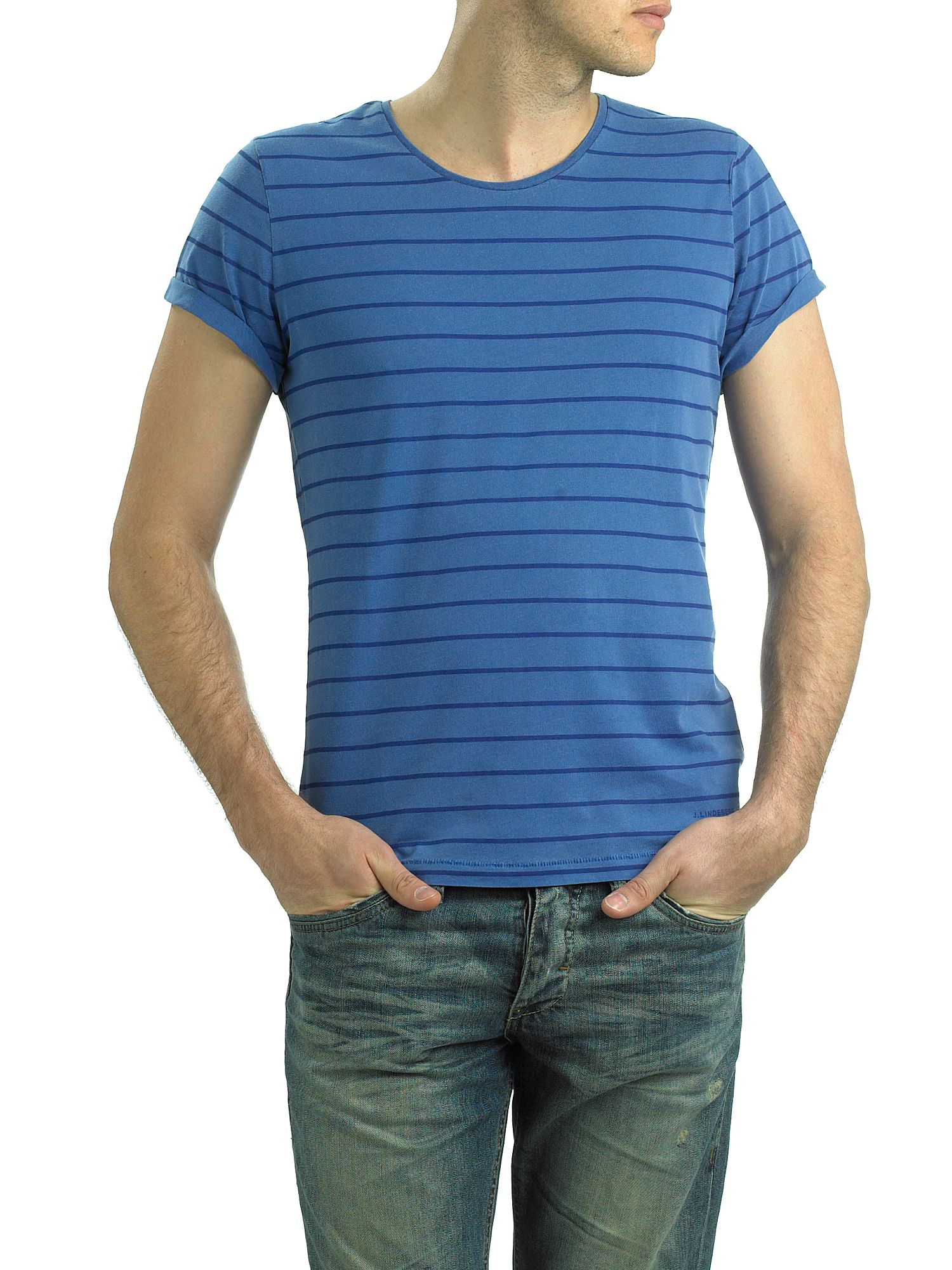 J Lindeberg Striped T-shirt Blue product image