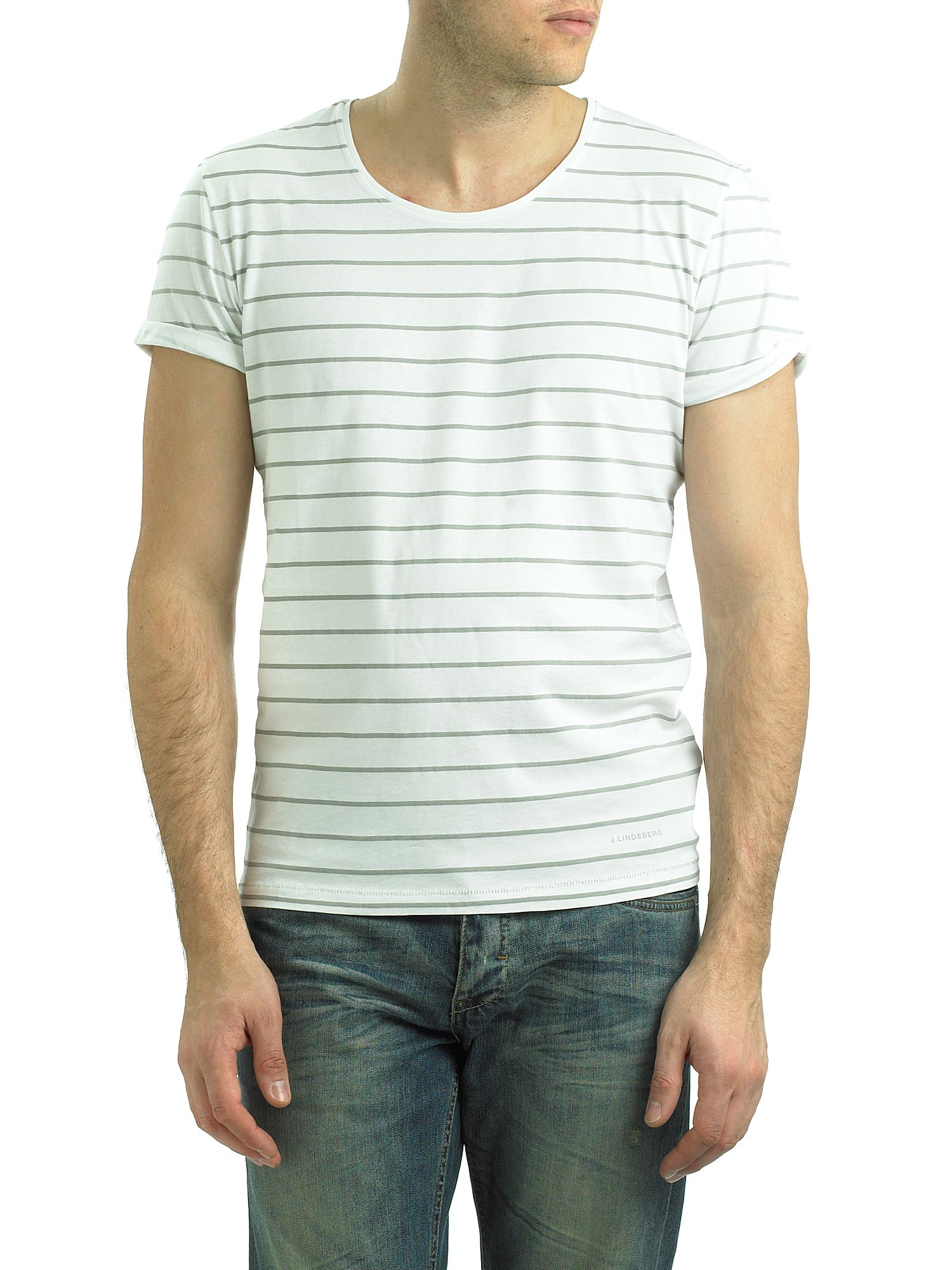 J Lindeberg Striped T-shirt White product image