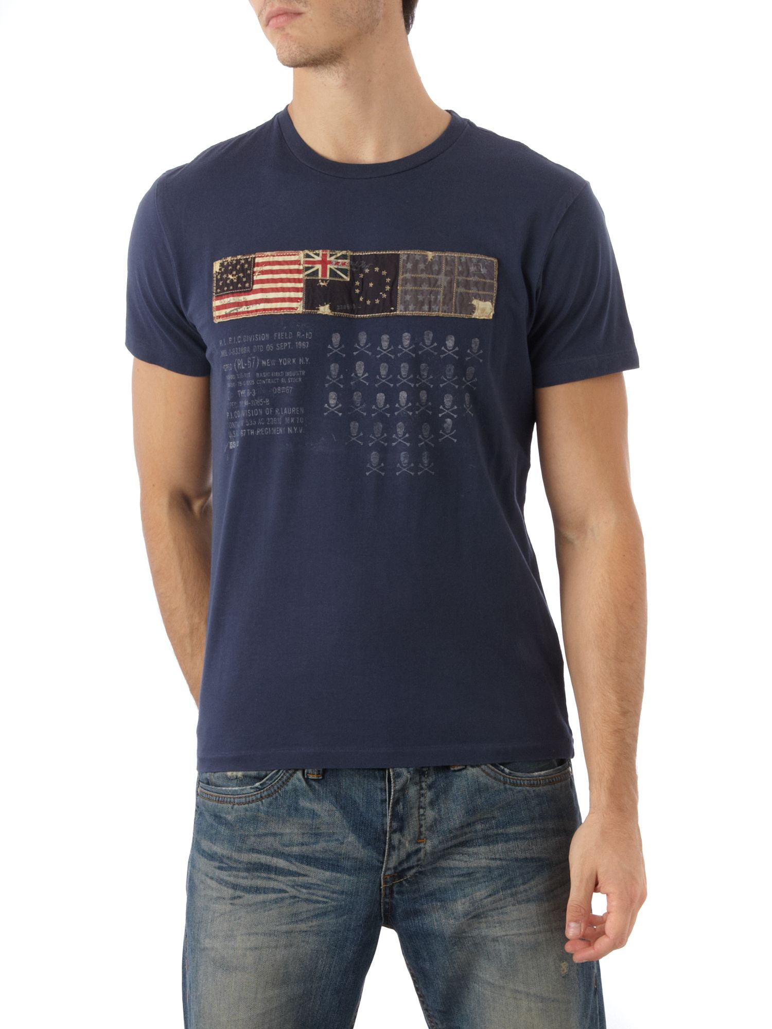 Polo Jeans Three flag T-shirt Navy product image