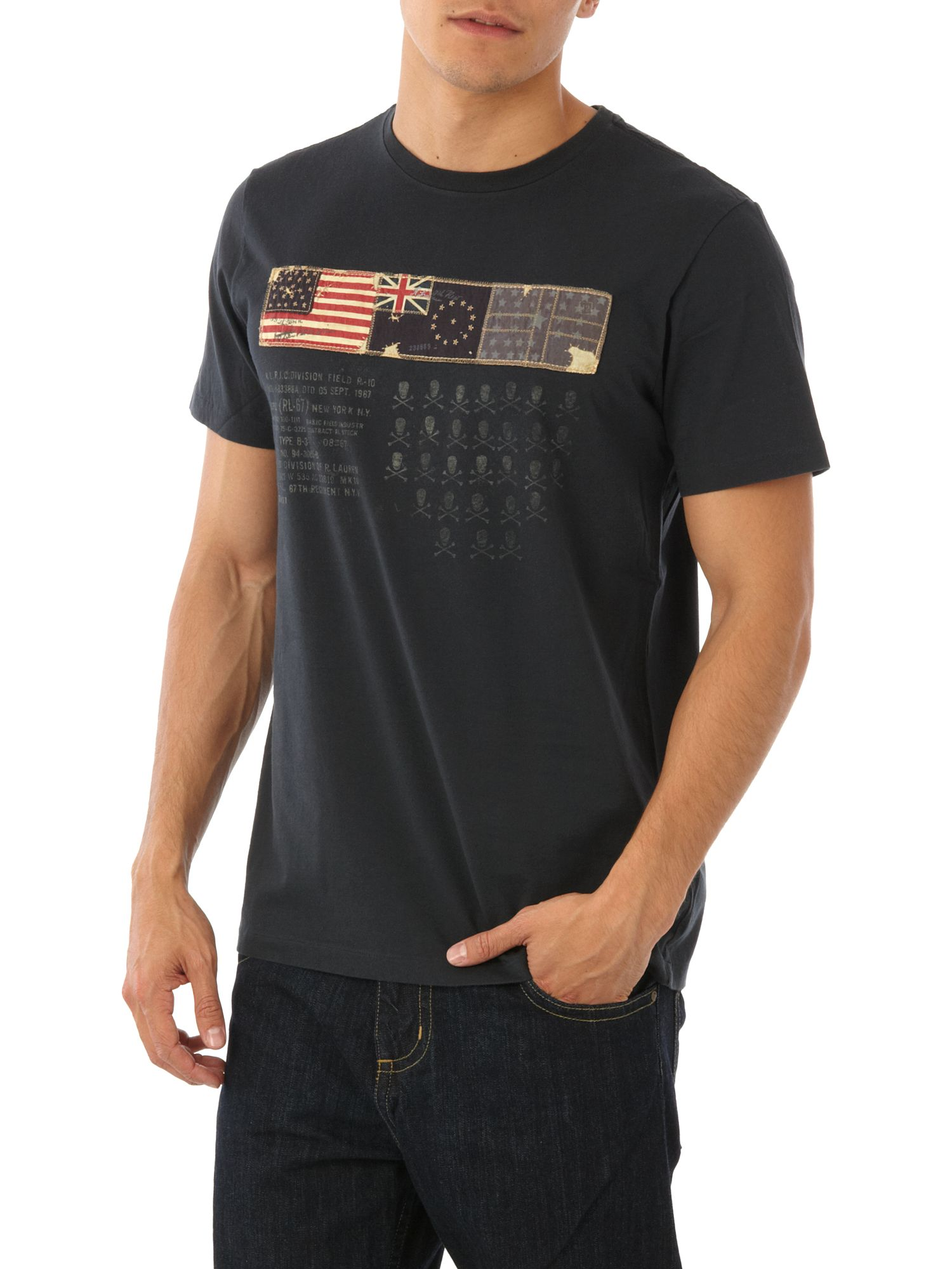 Polo Jeans Three flag T-shirt Black product image