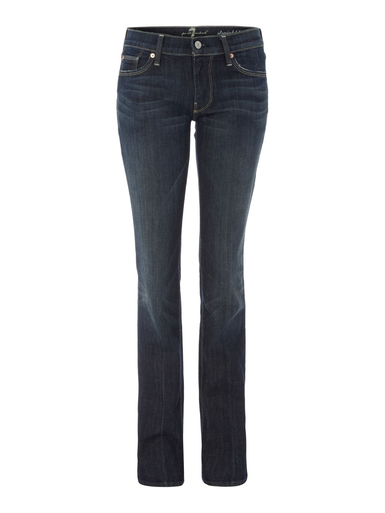Straight leg jeans in New York Dark