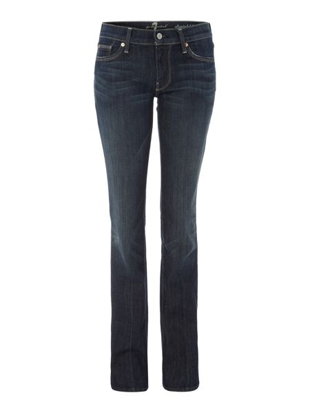 7 For All Mankind Straight leg jeans in New York Dark