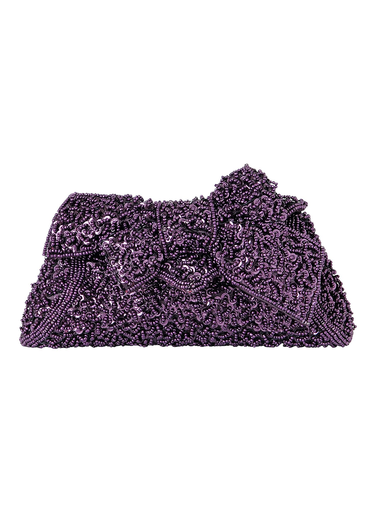 Phase Eight Tabitha sequin bag Purple product image