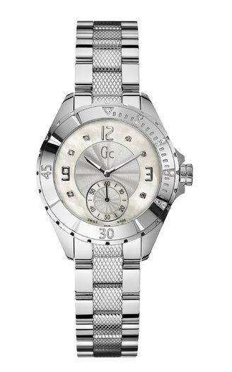 Gc ladies xls diamond set watch product image