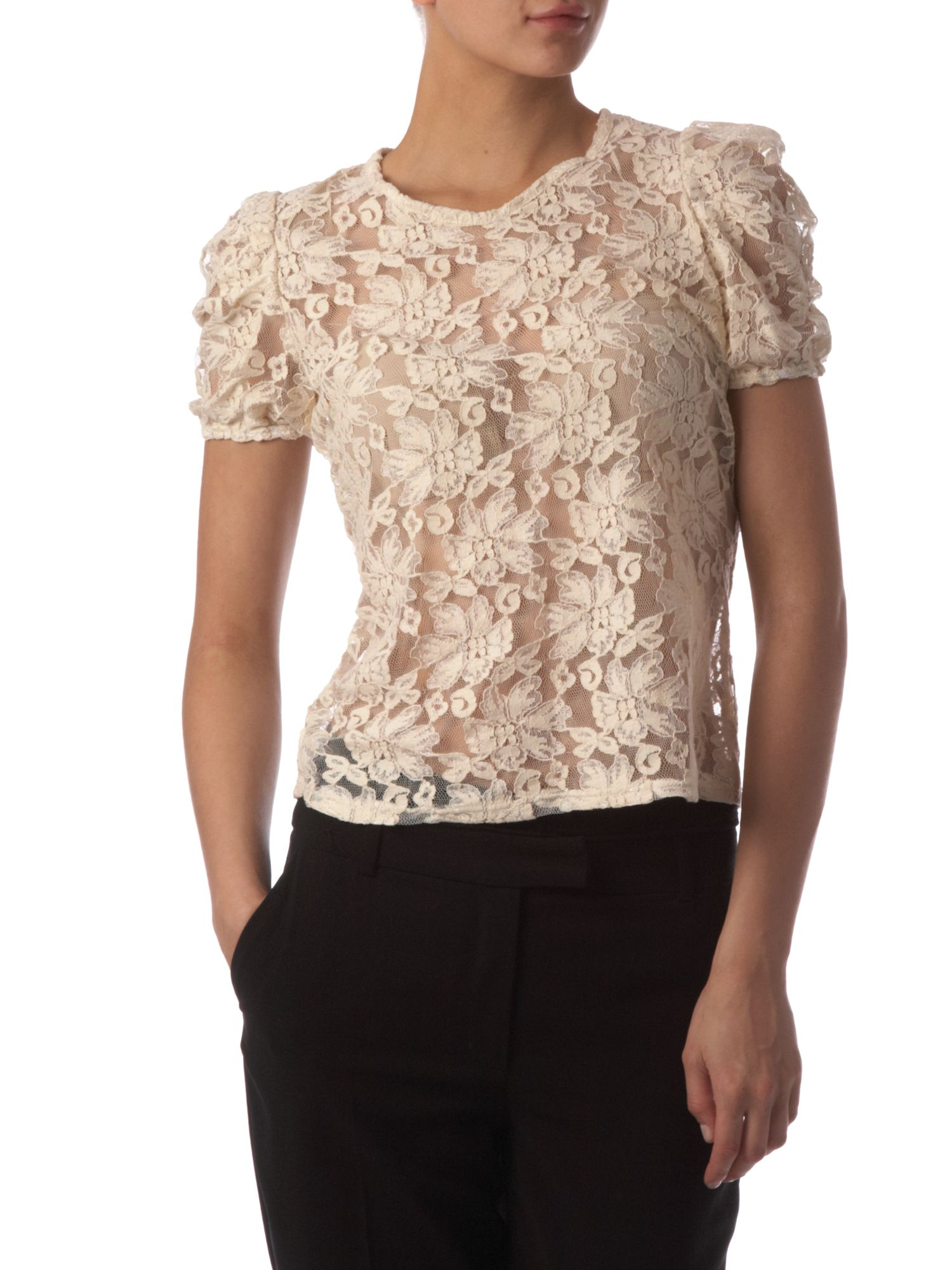 Therapy All over lace blouse product image