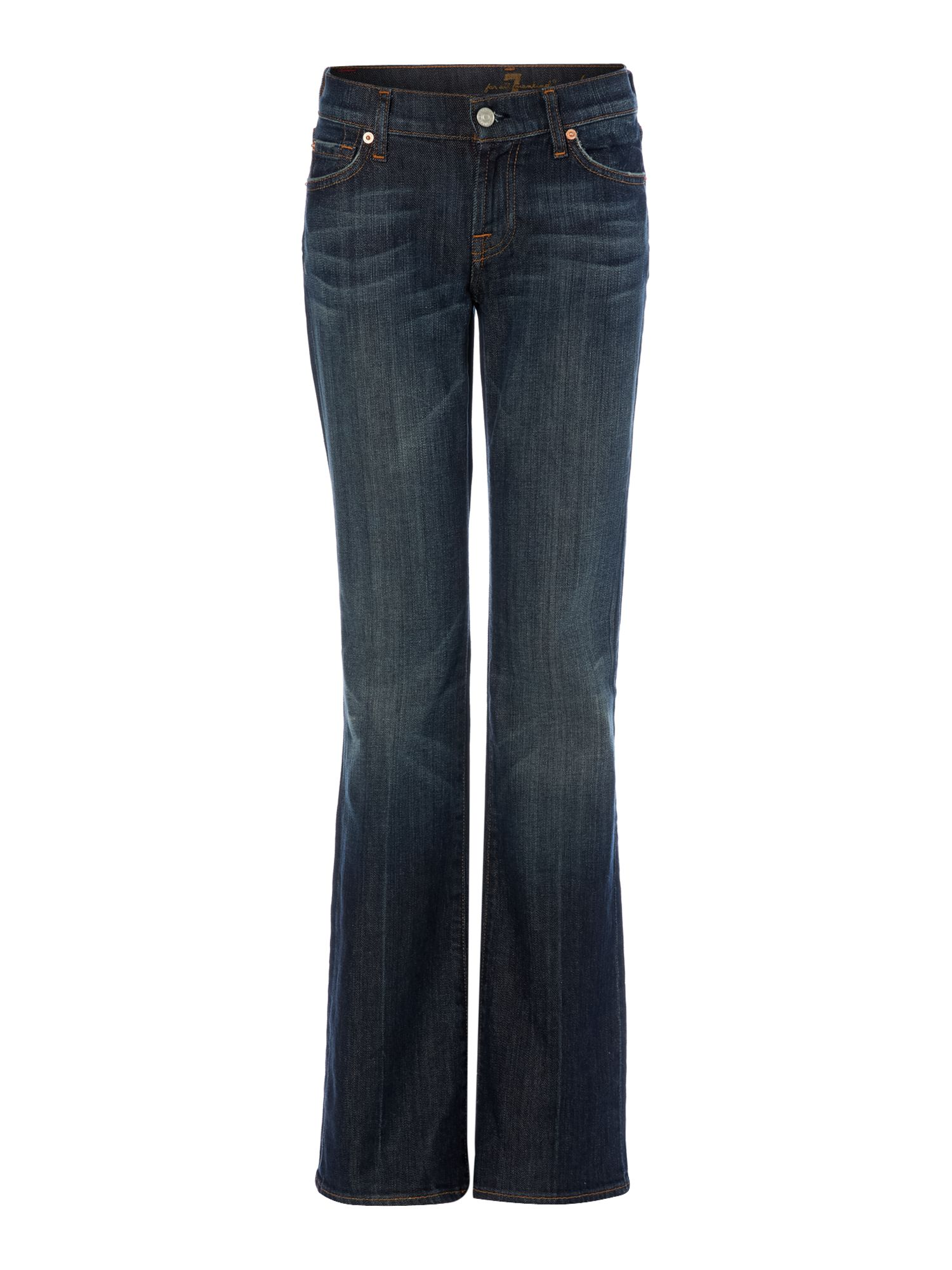 7 For All Mankind 7 For All Mankind Bootcut jeans in New York Dark, Denim Mid Wash