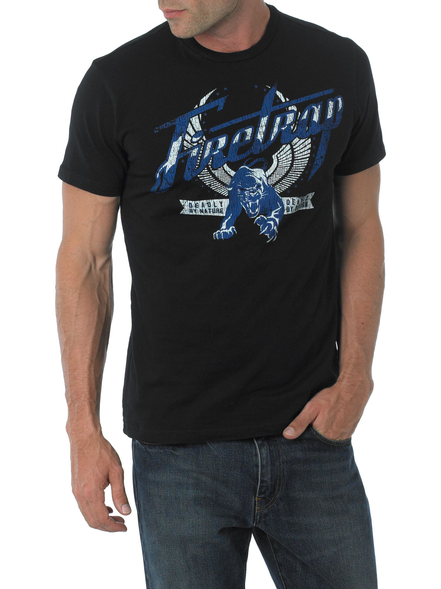 Firetrap Panther t-shirt Black product image