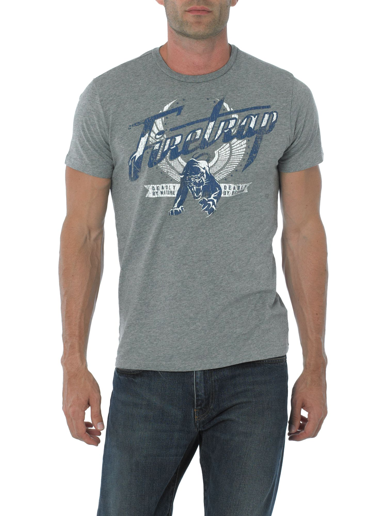 Firetrap Panther t-shirt Grey product image