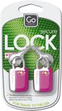 Picture of Mini glo travel sentry padlocks, assorted colours
