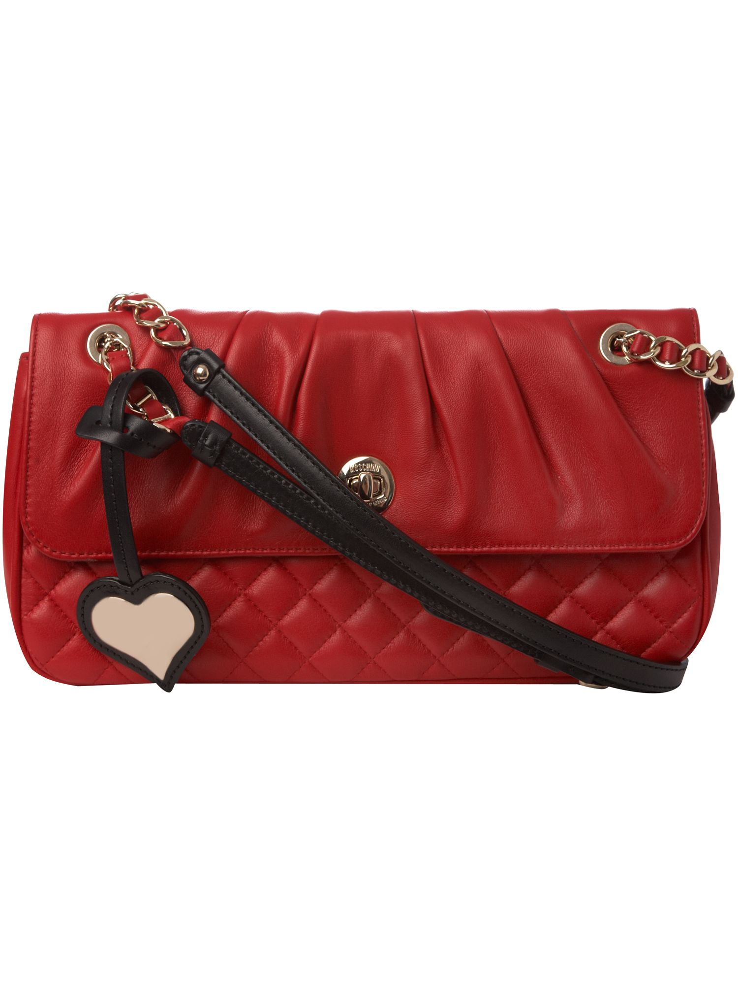 Moschino Cheap & Chic Nappa Medium leather Cross Body bag. product image