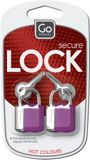Picture of Glo key padlocks, assorted colours
