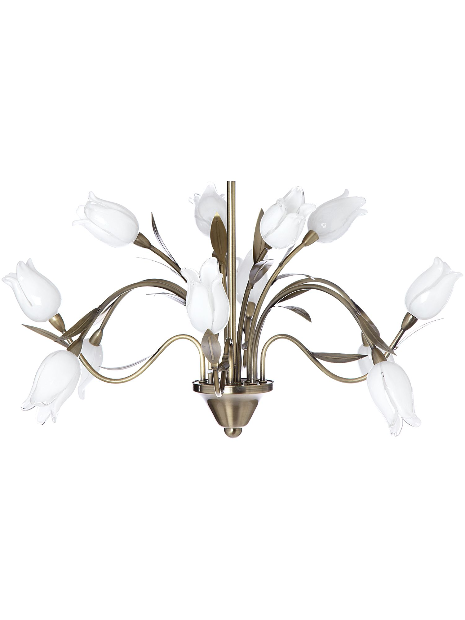 Philomena armed ceiling light by House of Fraser
