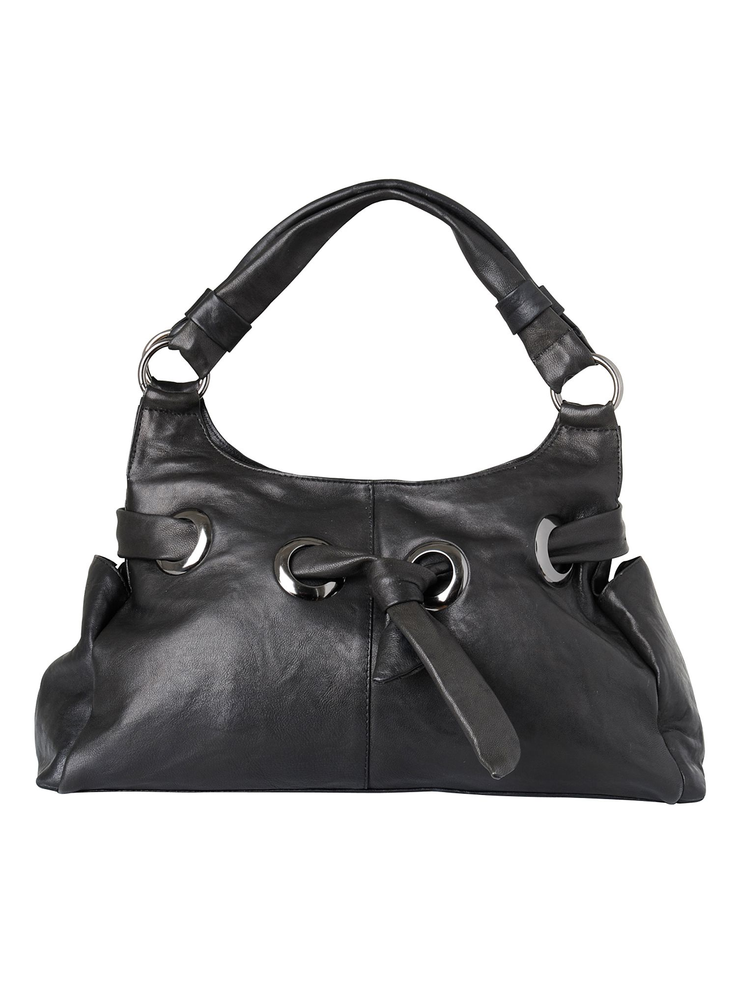 Phase Eight Soho eyelet hand bag Black product image