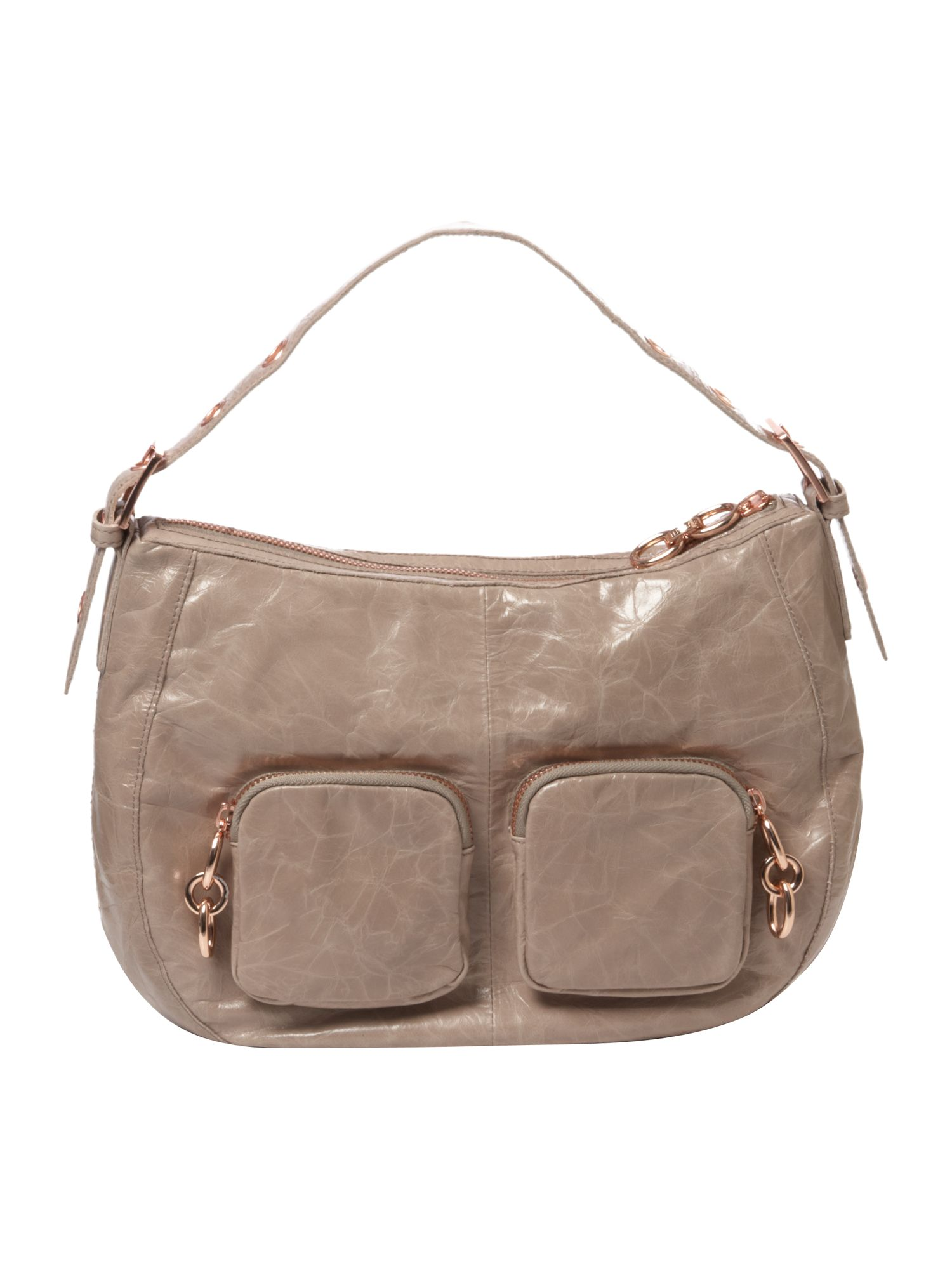 Ted Baker Fitch medium leather hobo bag product image