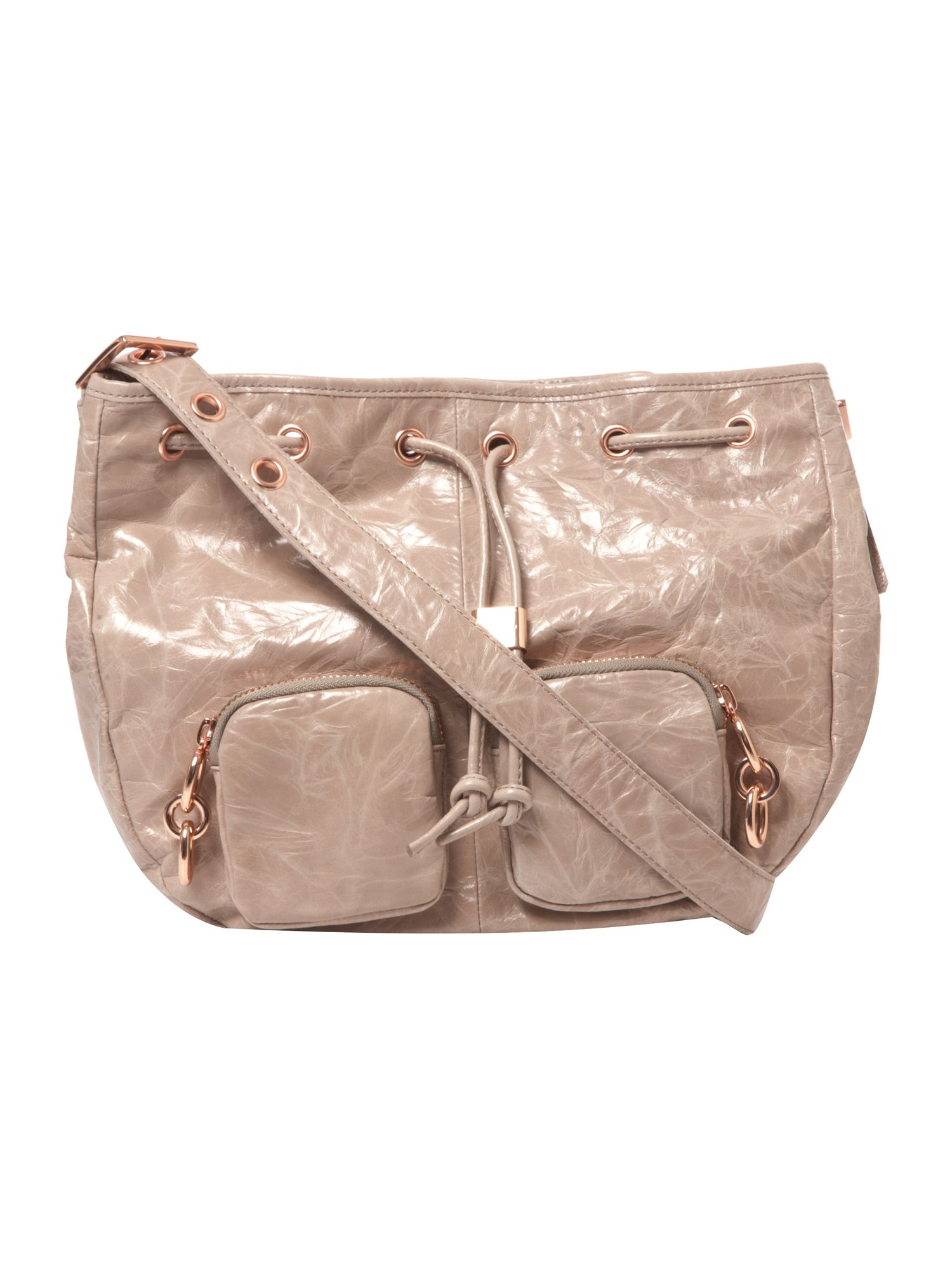 Ted Baker Indie medium leather cross body bag product image