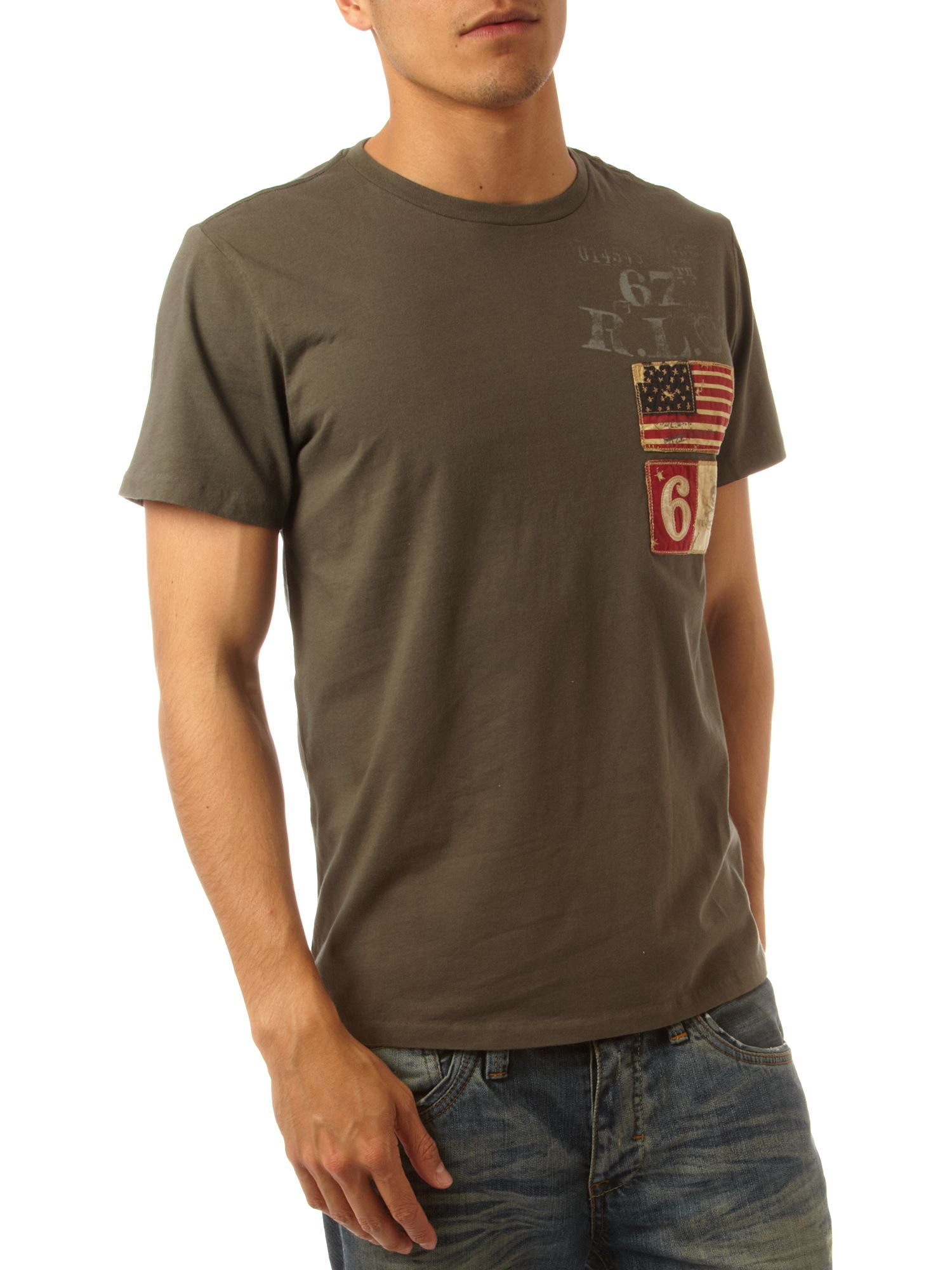 Polo Jeans Two flags T-shirt Grey product image