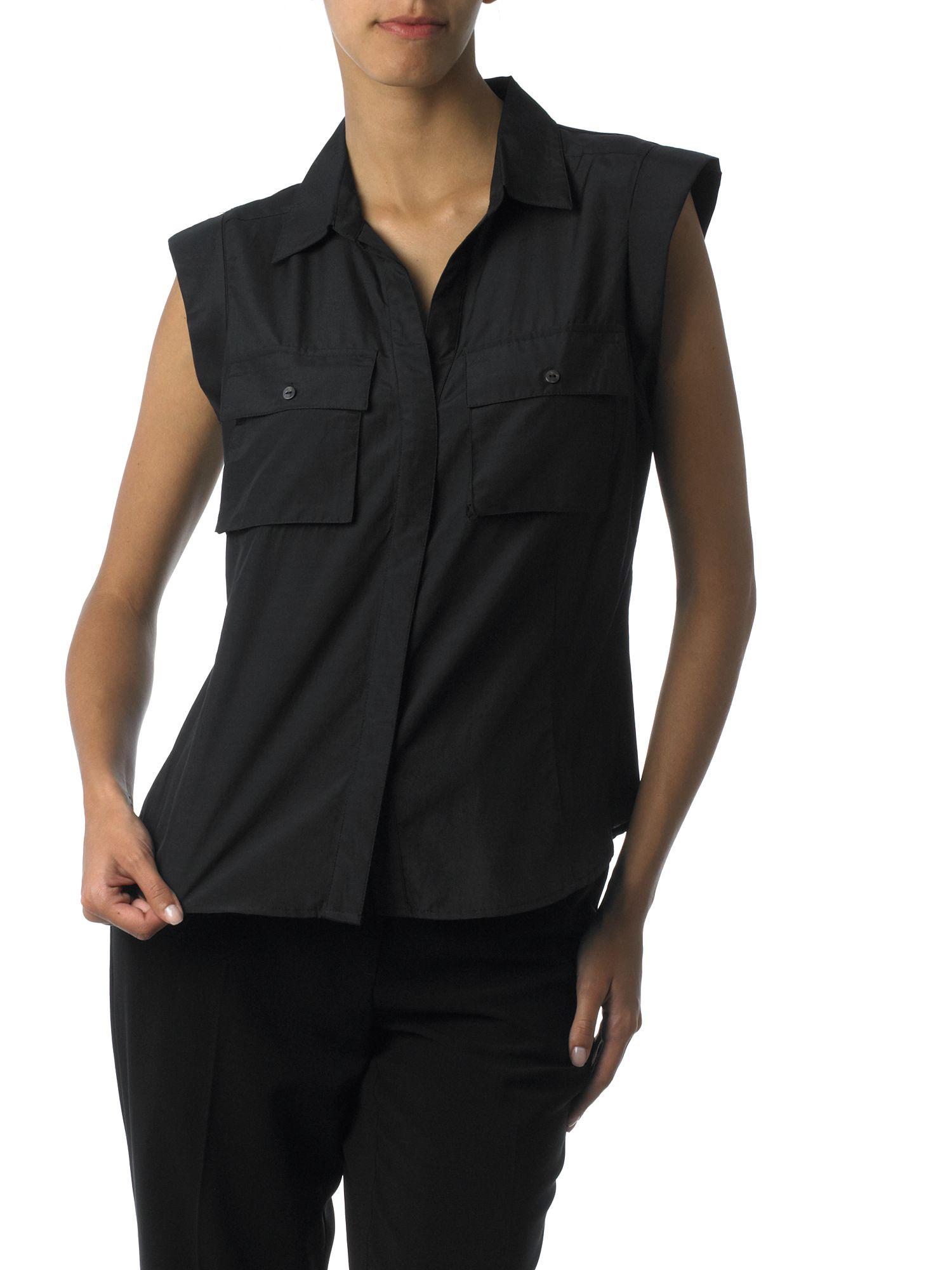 Pied a Terre Silk military blouse Black product image
