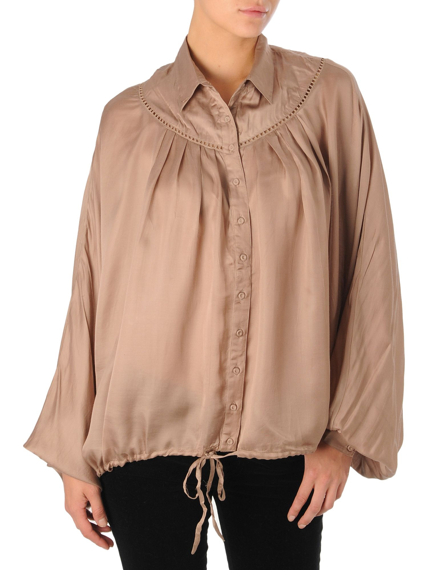 Label Lab Satin blouse Light Brown product image