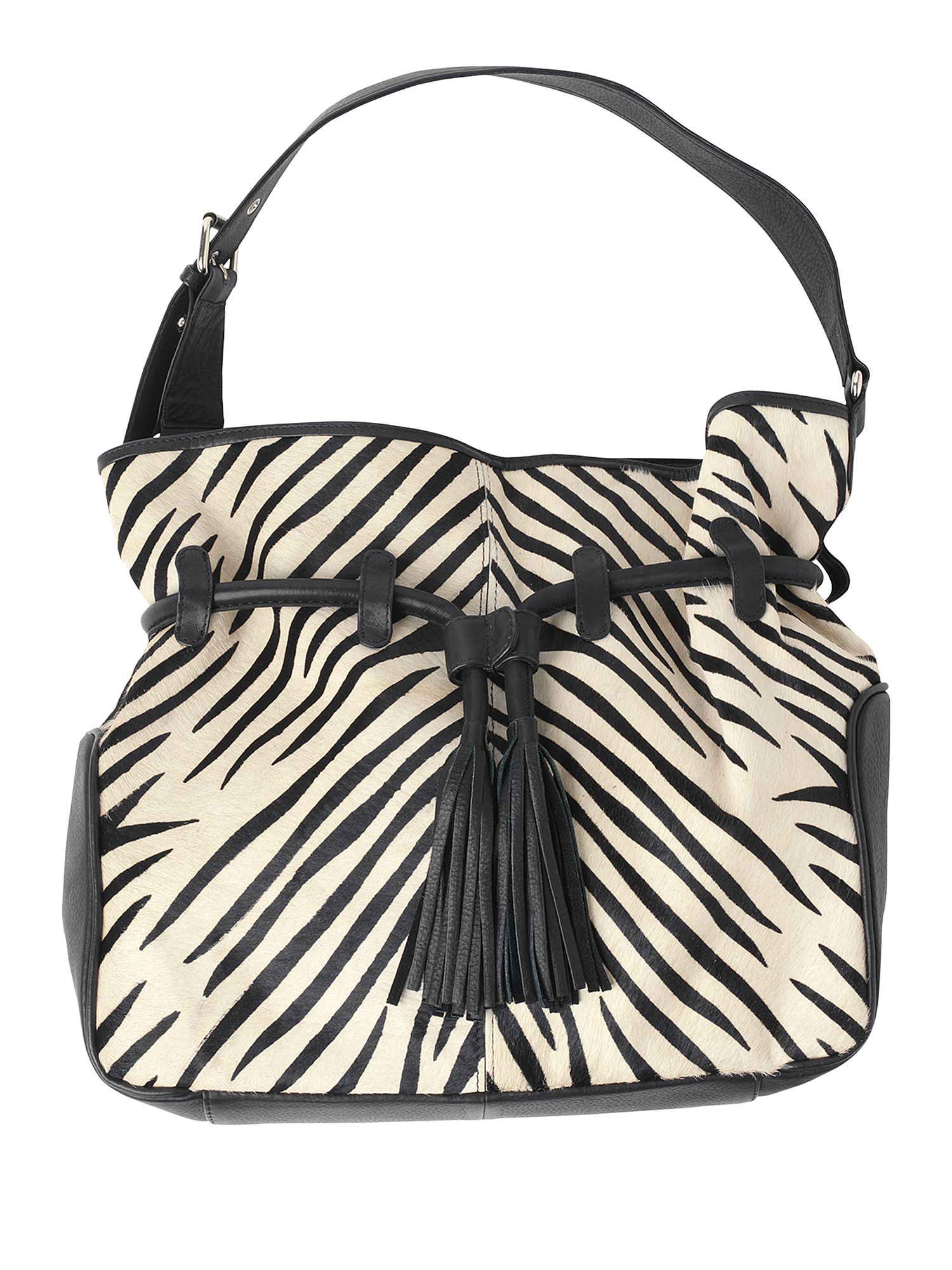 Phase Eight Zebra print hand bag Black product image